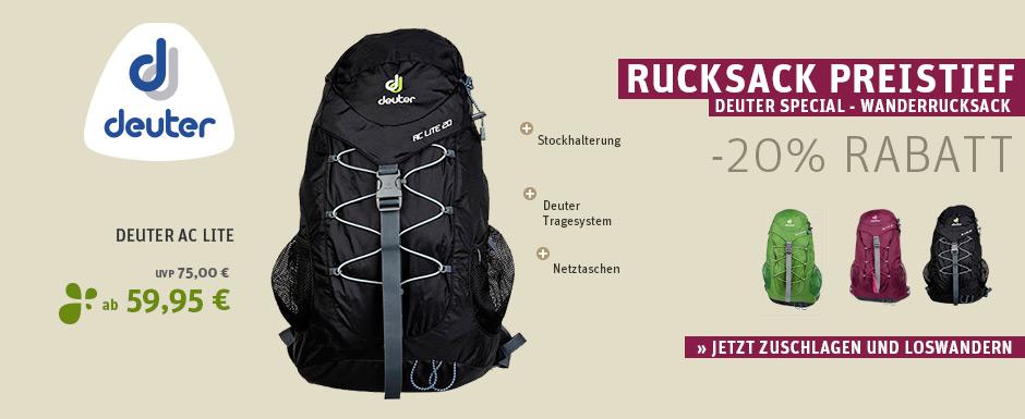 big - Deuter Rucksacksonderaktion