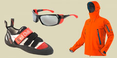 Kletterbekleidung & Kletterschuhe