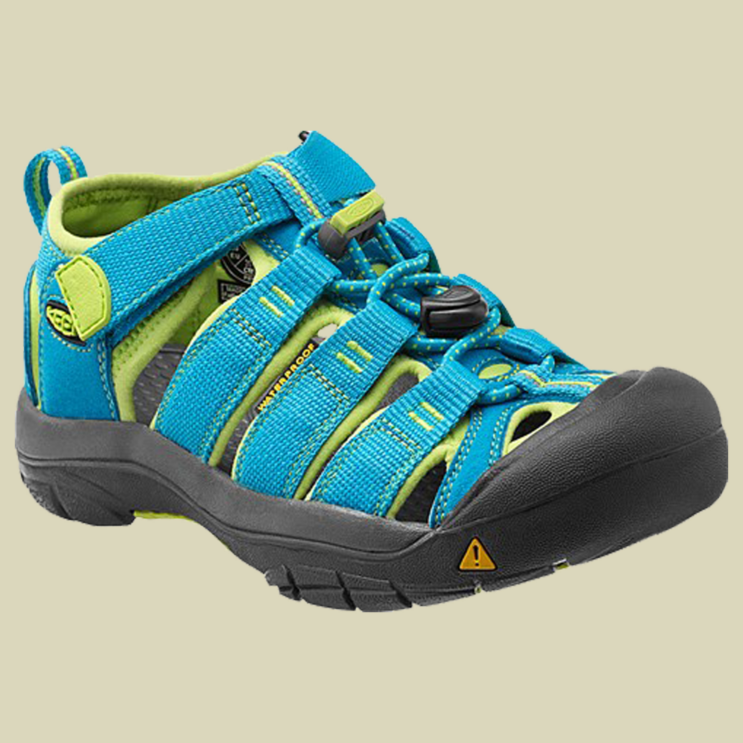 Keen Newport H2 Kids Trekking Sandale Kinder Größe 31 hawaiian blue-green glow
