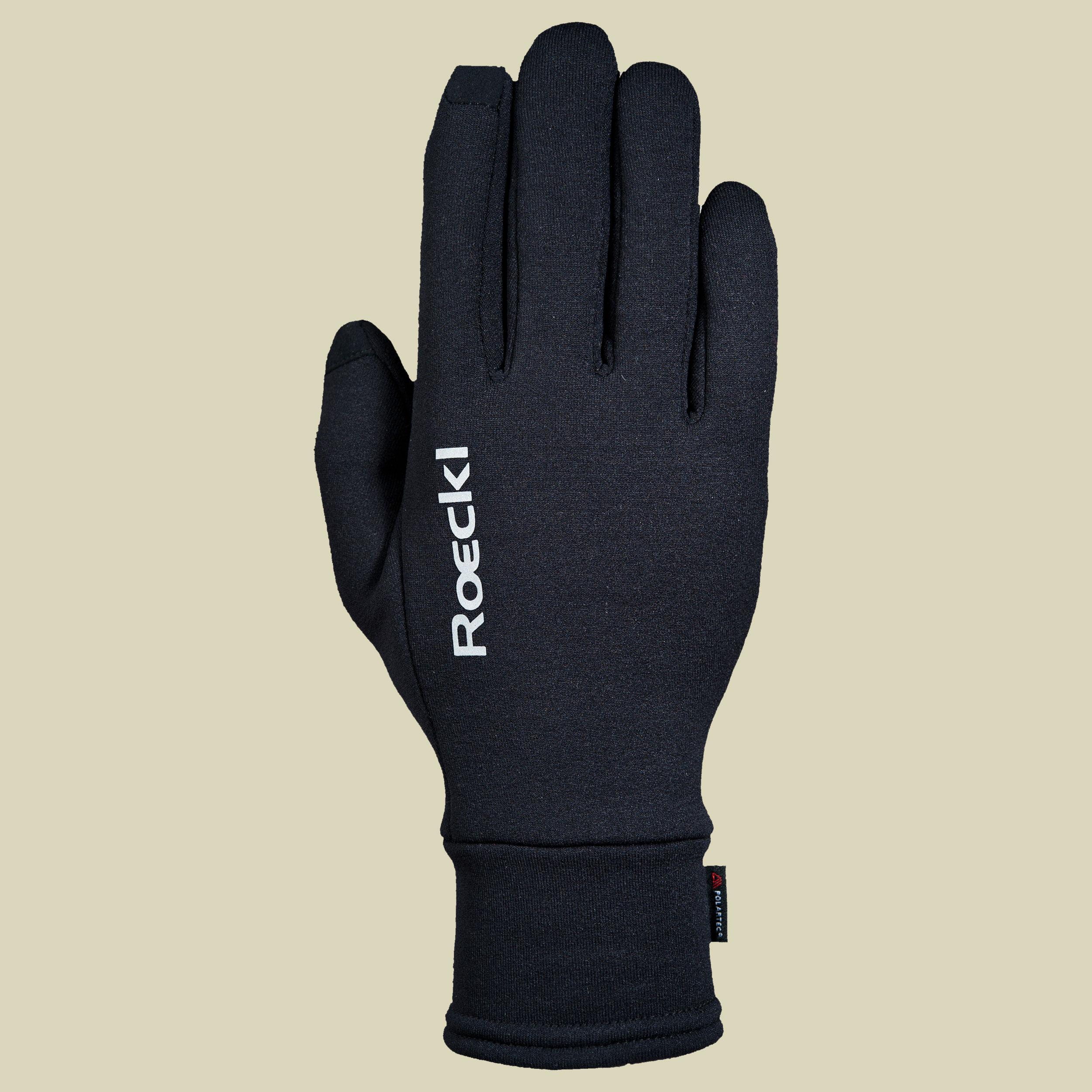 Roeckl Kailash Polartec Outdoor Outdoor Handschuhe Unisex Größe 6,5 schwarz