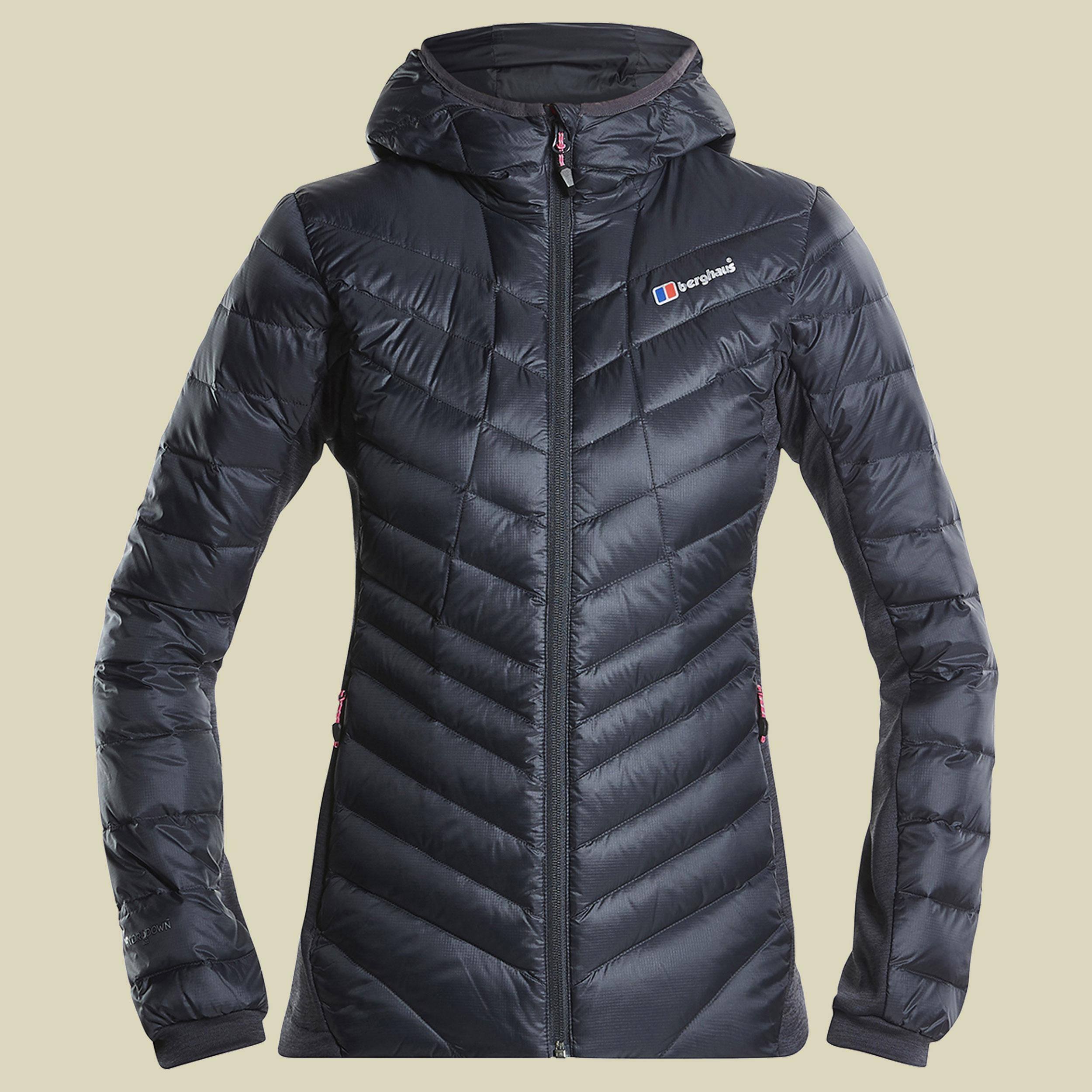 Berghaus Limited Tephra Stretch Jacket Women Damen Daunenjacke Größe 36 (10) carbon