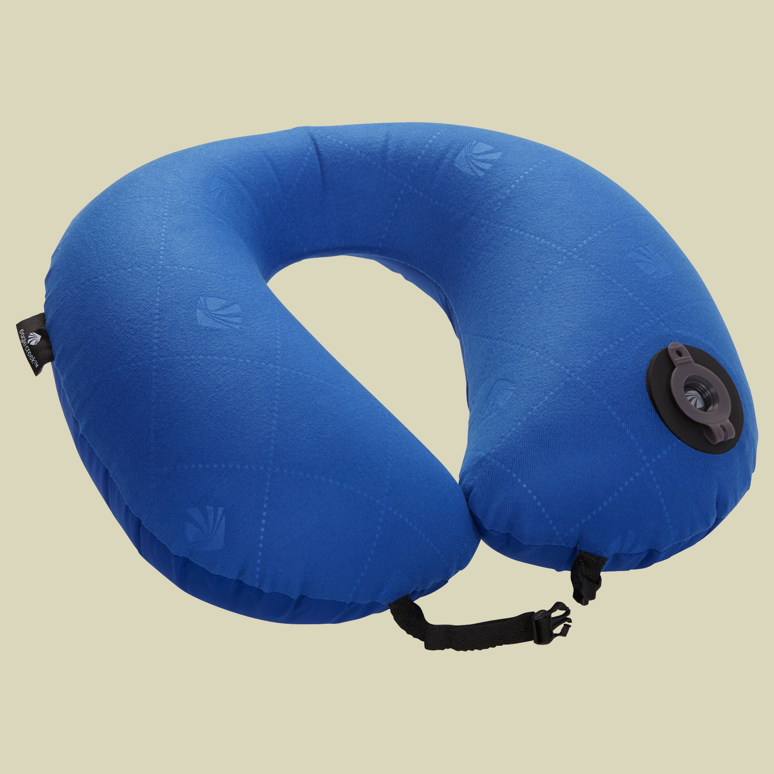 Eagle Creek Exhale Neck Pillow aufblasbares Nackenkissen Größe one size blue sea