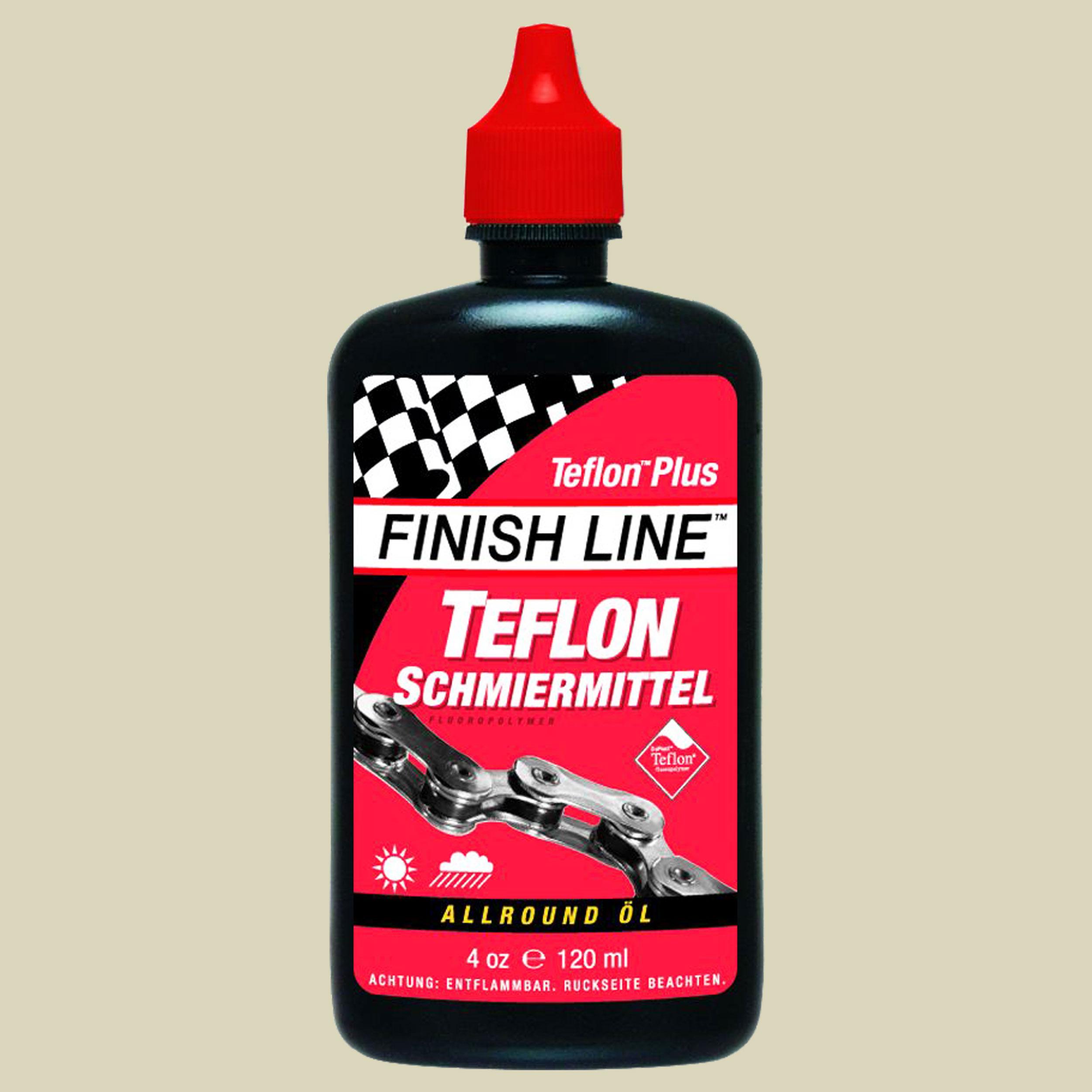 Finish Line Trockenschmiermittel mit Teflon 120 ml Schmiermittel Inhalt 120 ml