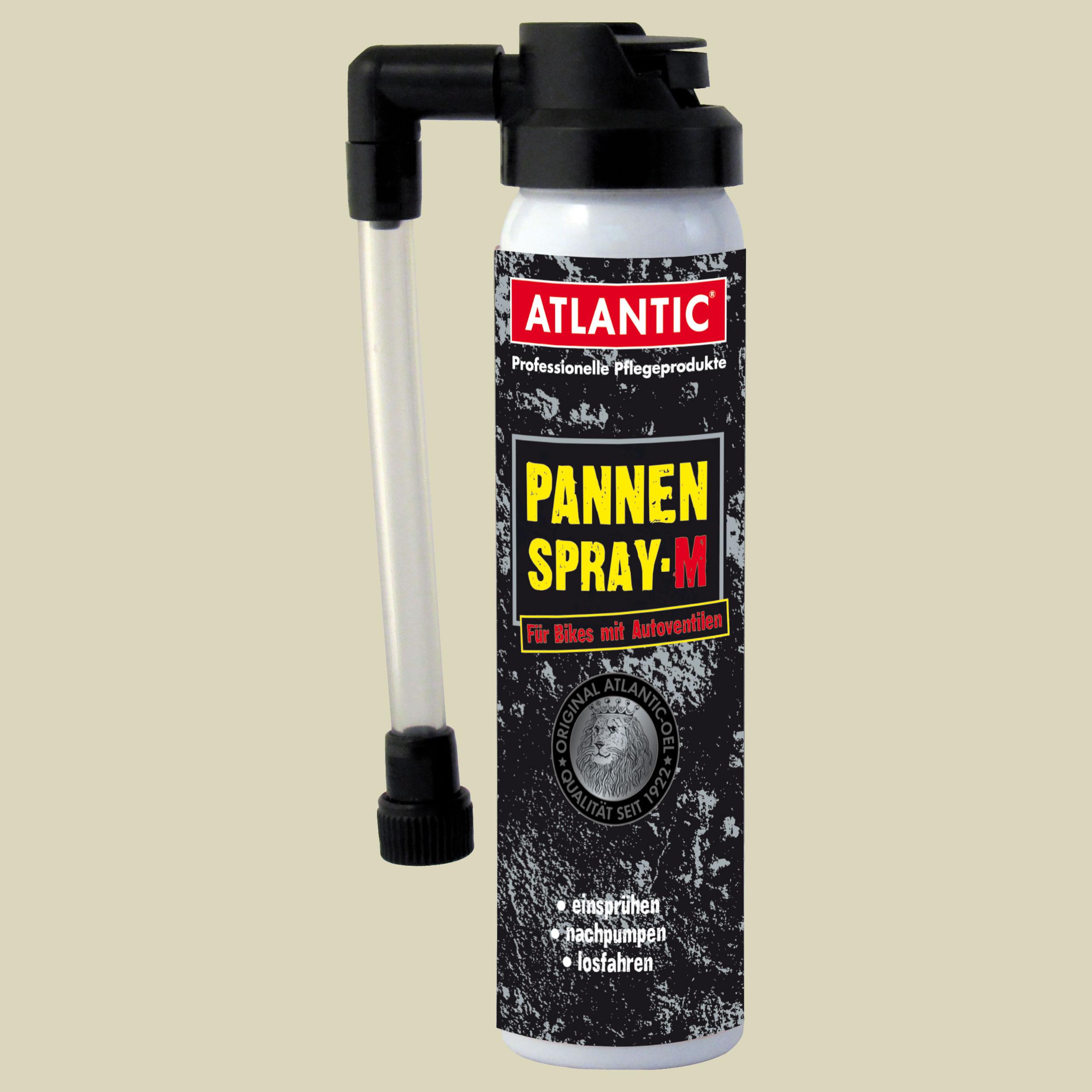 Atlantic Pannenspray M Pannenspray Flickzeug Inhalt 75ml für Bikes mit Autoventilen