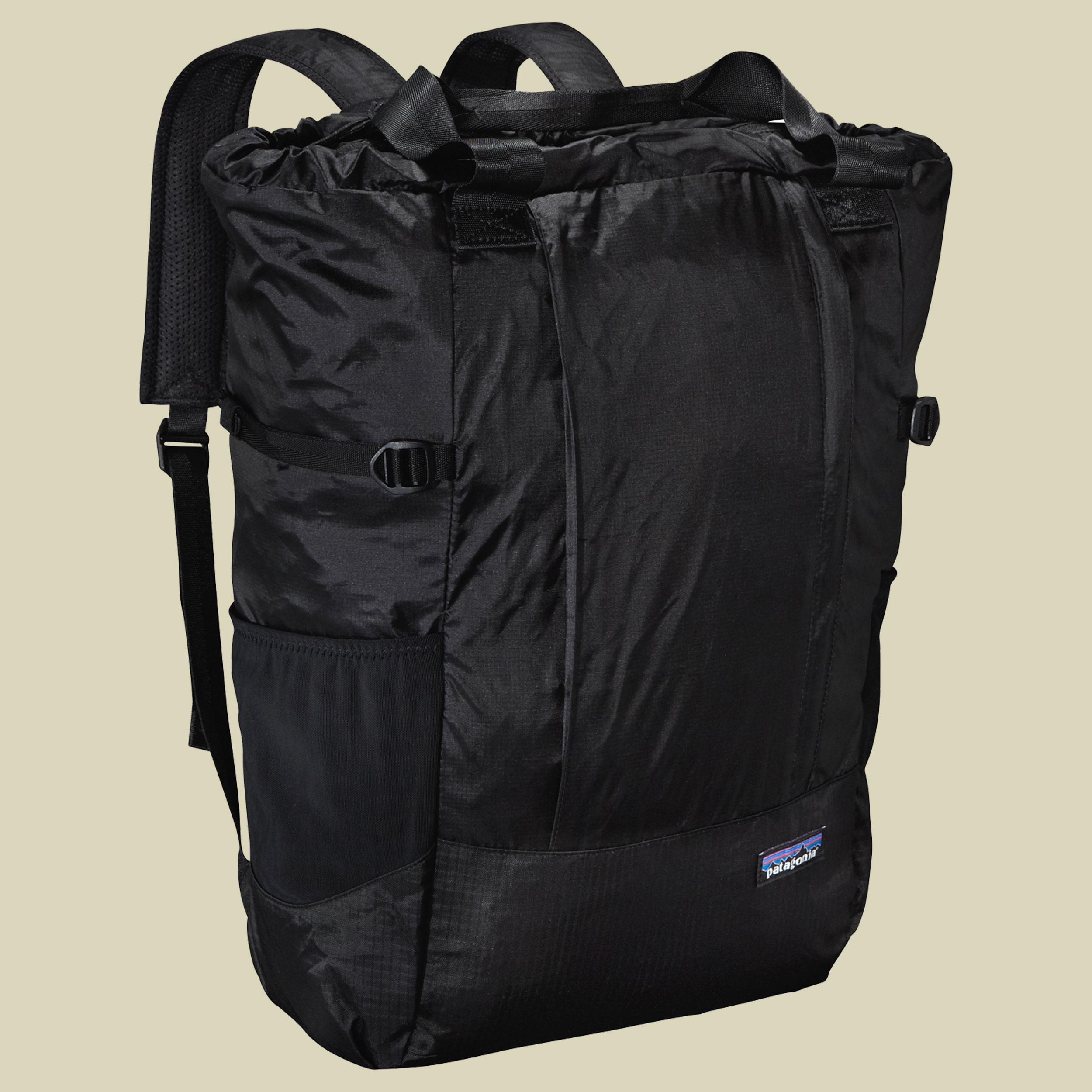 Patagonia, Lightweight Travel Tote Pack, Volumen 22, variable Schultertasche, bl