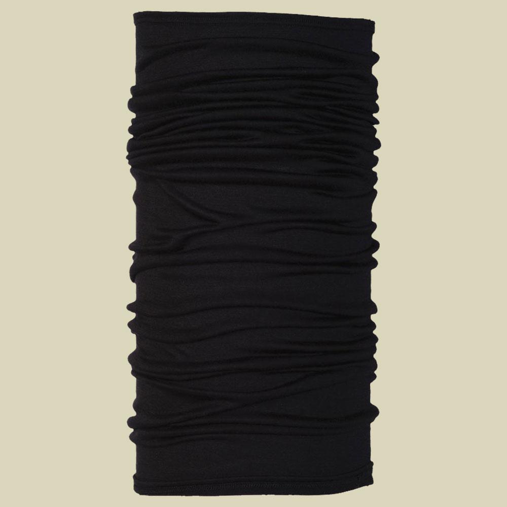 Buff  Merino Wool Kopftuch Halstuch Größe one size black