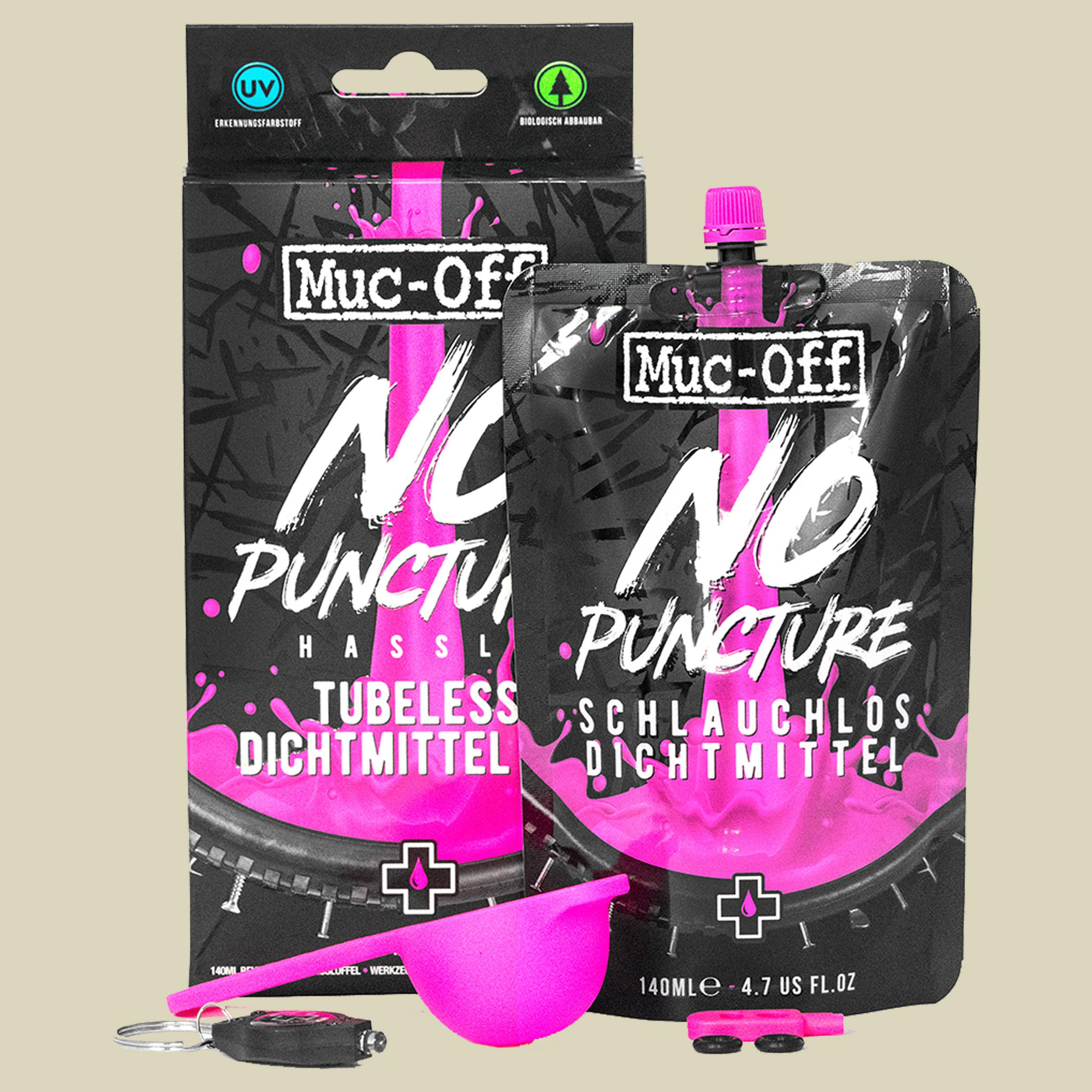 Muc-Off No Puncture Hassle Tubeless Dichtmittel Kit Reifendichtmittel