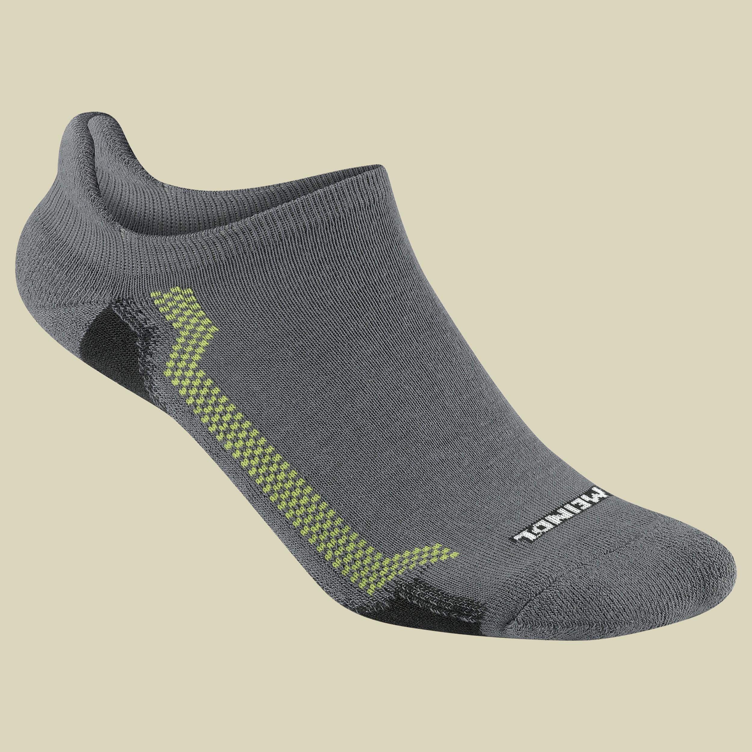 Meindl XO Sneaker Sock Pro Sportsocken Unisex Größe 36-39 lemon-grau