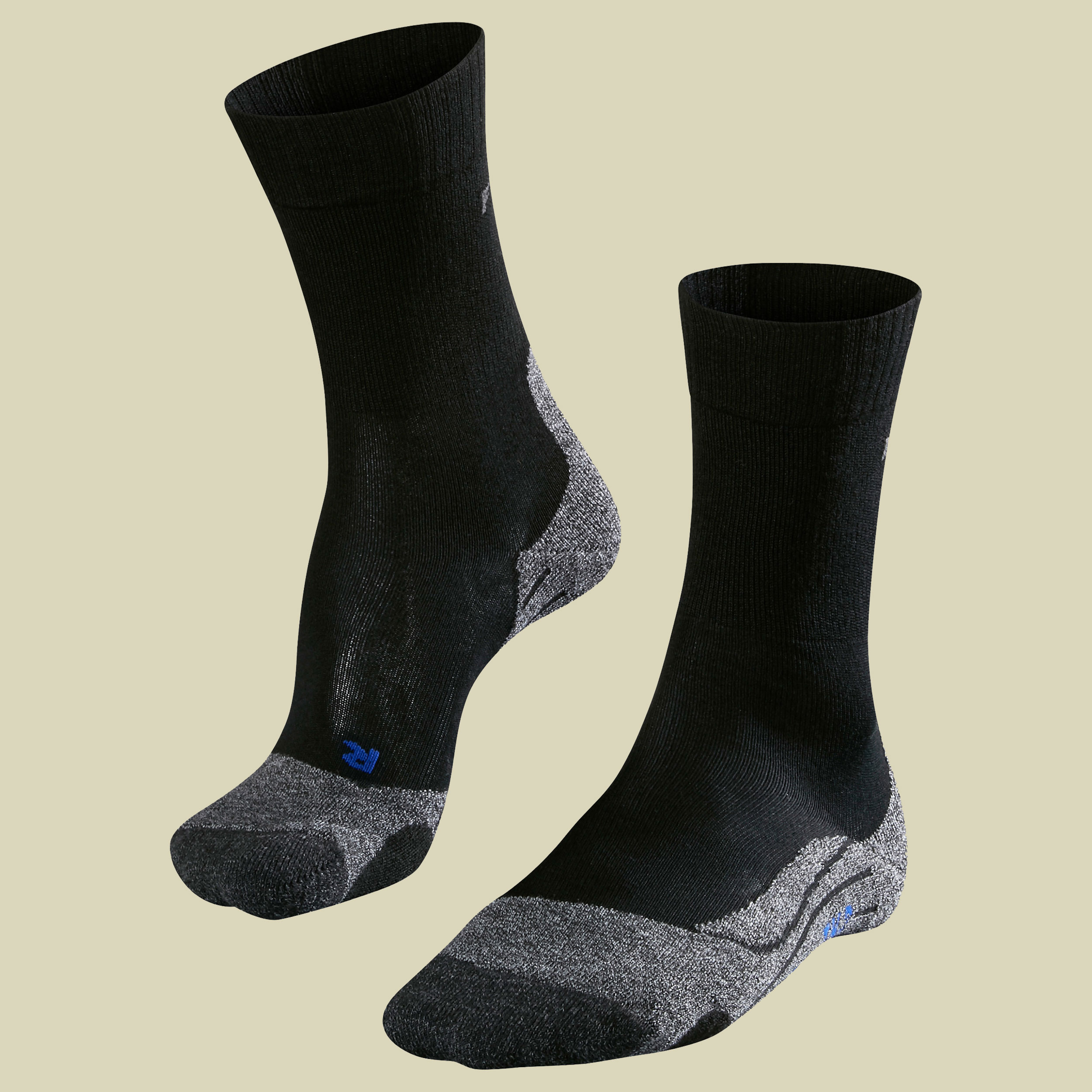Falke TK 2 Cool Women Damen Trekkingsocken Größe 35-36 black-mix