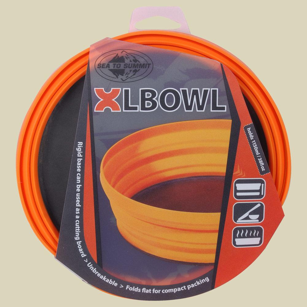 Sea to Summit XL-Bowl Outdoorschale Volumen 1150 orange