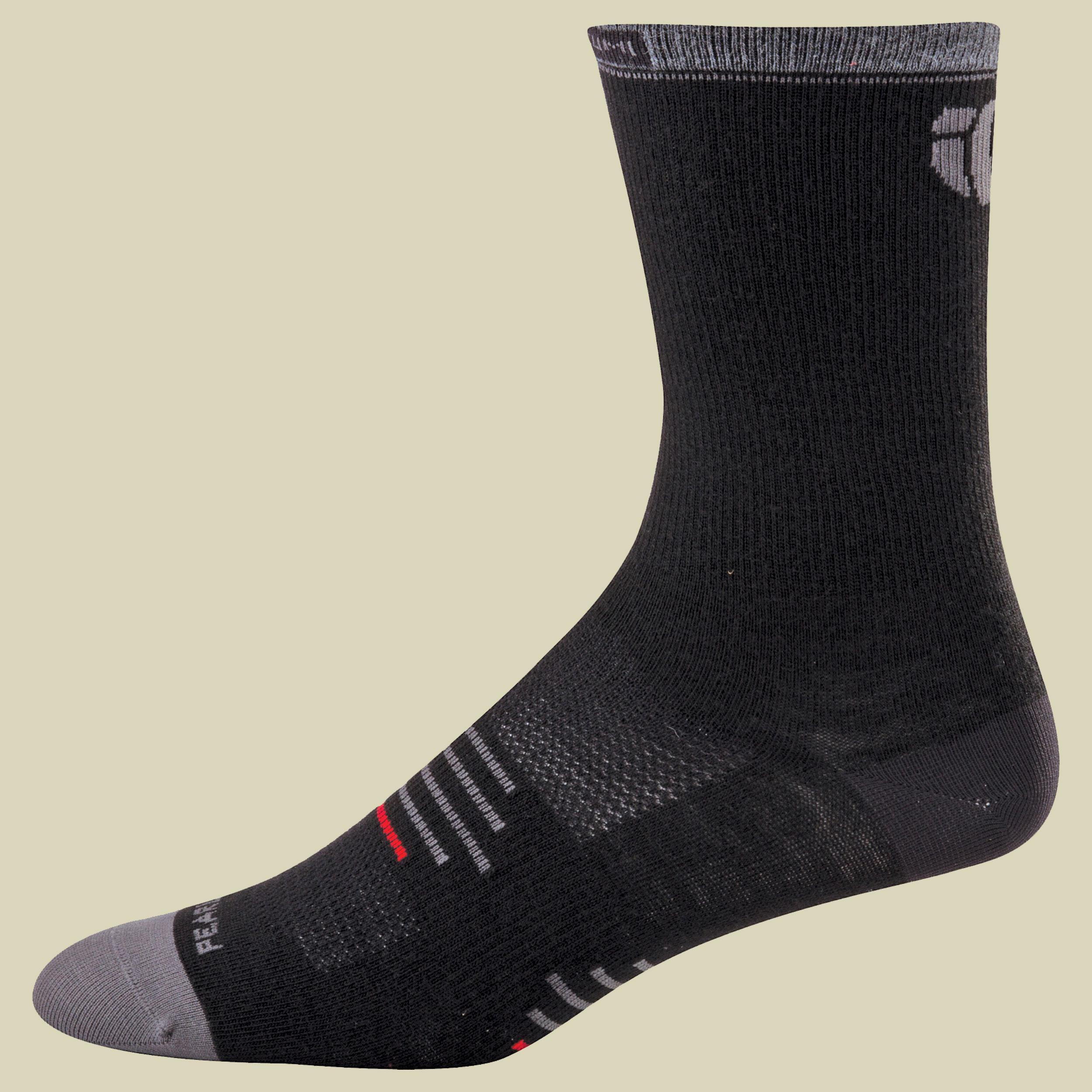 Pearl Izumi Elite Tall Wool Sock Fahrradsocken Größe S black