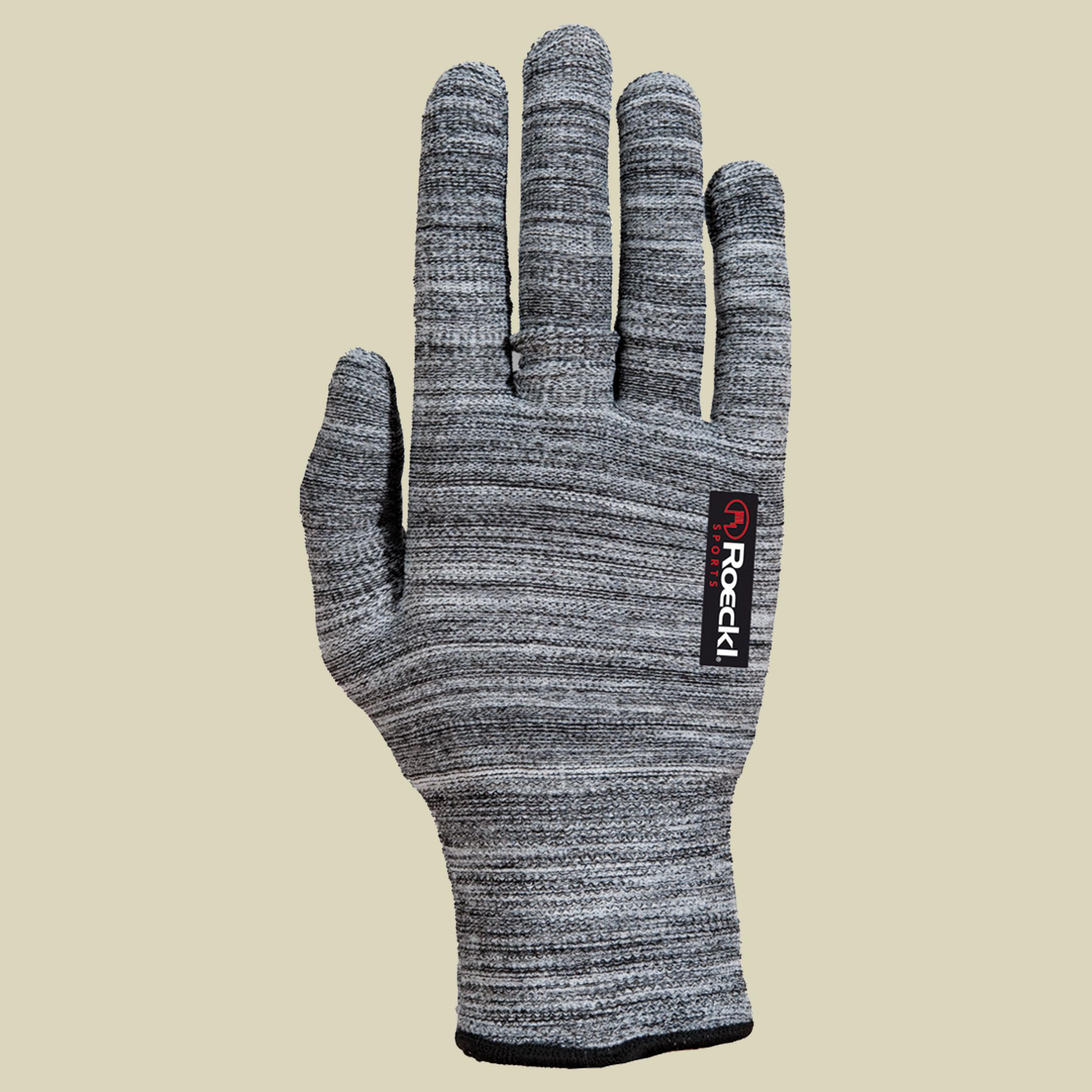 Roeckl Kalamaris Unterzieh-/Strickhandschuh Strick-Unterziehhandschuhe Unisex grau