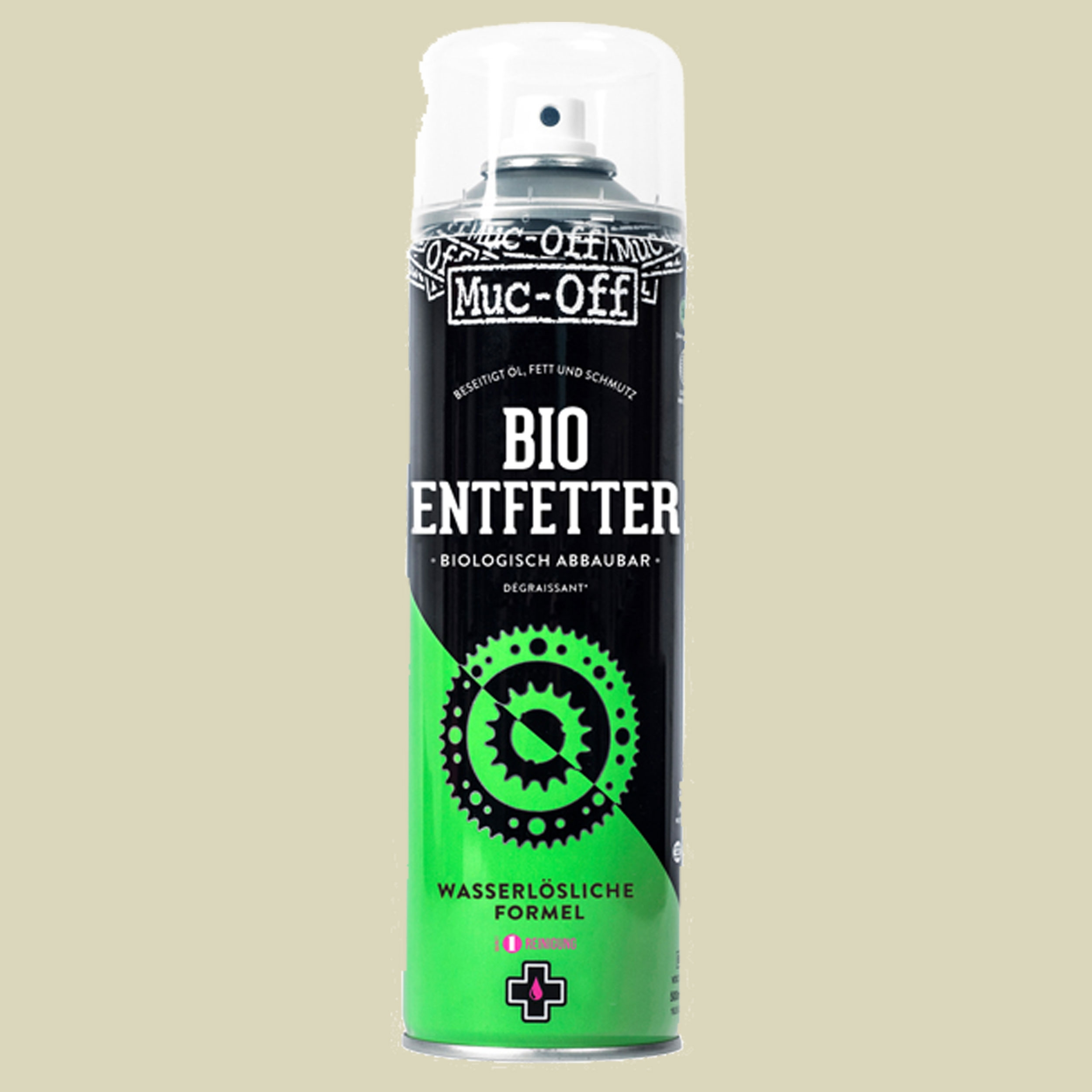 Muc-Off Bio Entfetter De-Greaser Aerosol 500 ml Entfetter Fahrrad