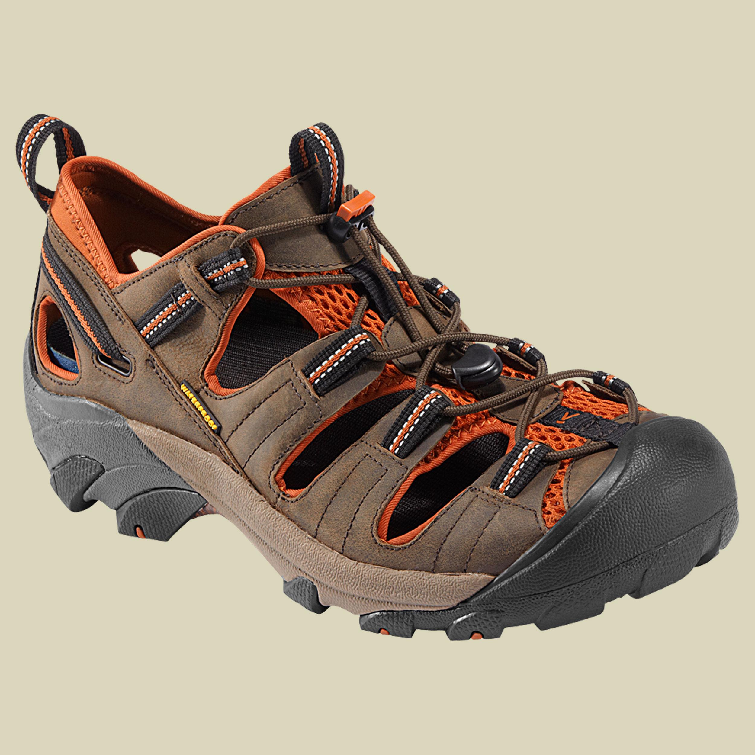 Keen Arroyo II Men Sandale Herren Größe UK 13 black-olive/bombay brown