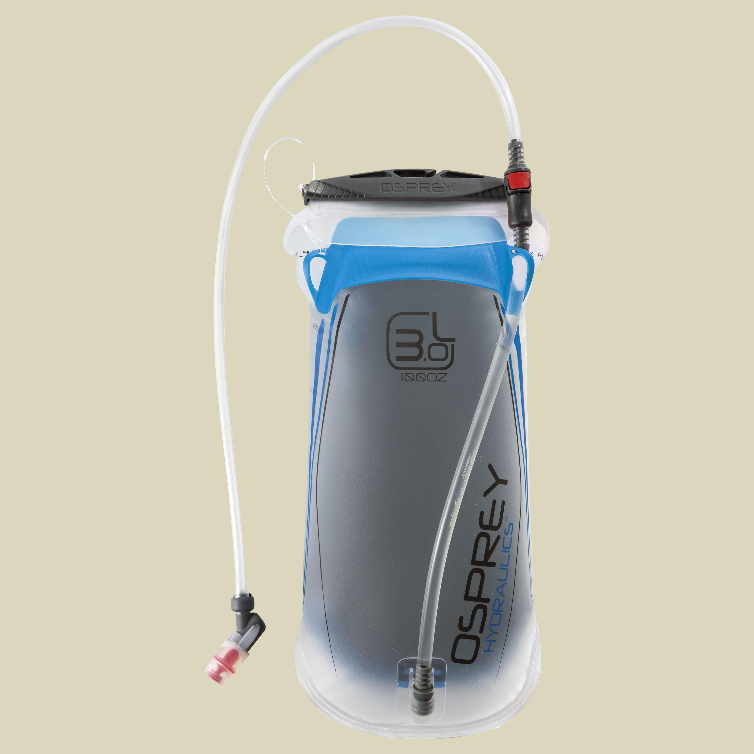 Osprey Hydraulics 3L Reservoir Trinkblase Volumen 3 Liter blue