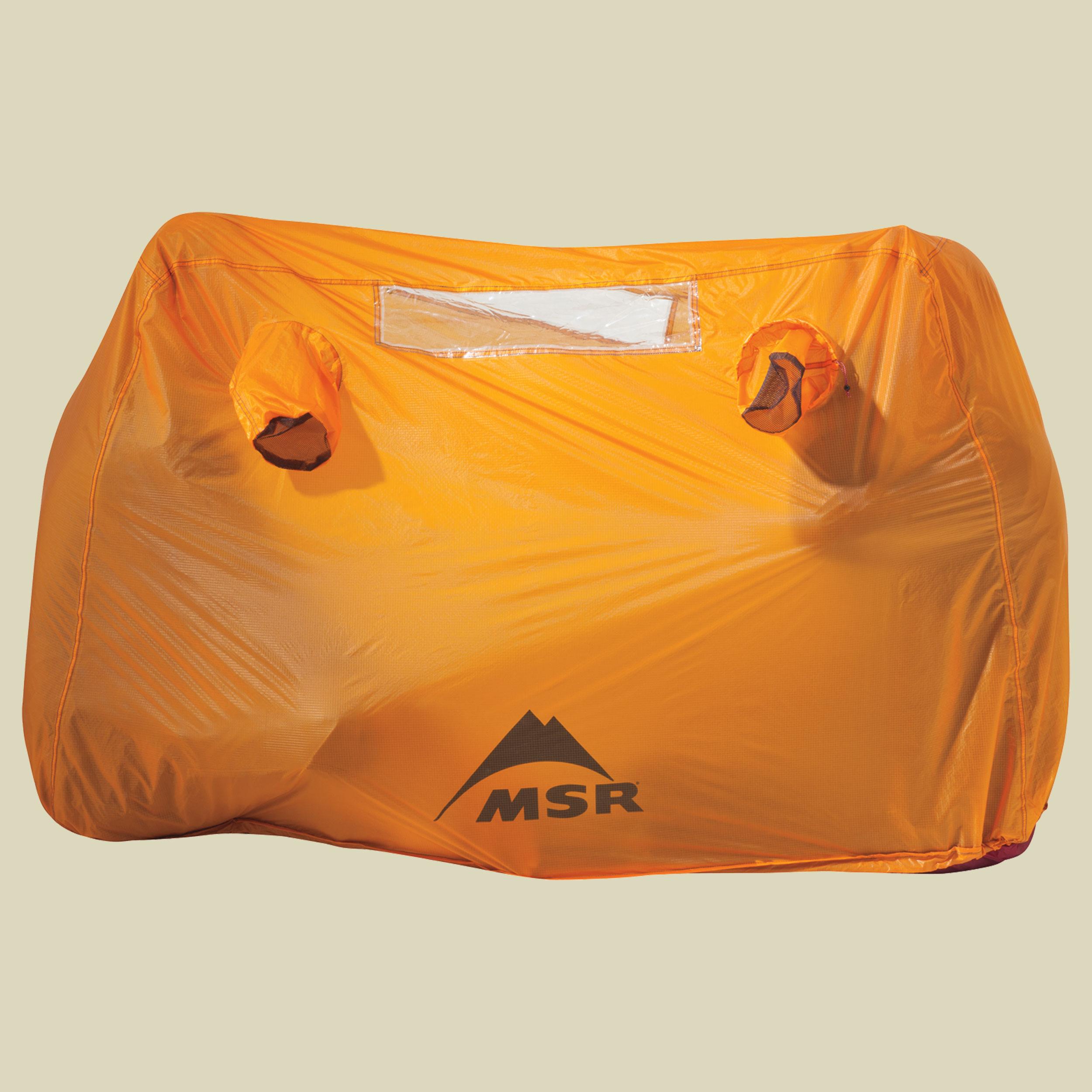 MSR Munro Bothy 2 Notfall-Zelt für 2 Personen Notfall-Zelt für 2 Personen sunset orange