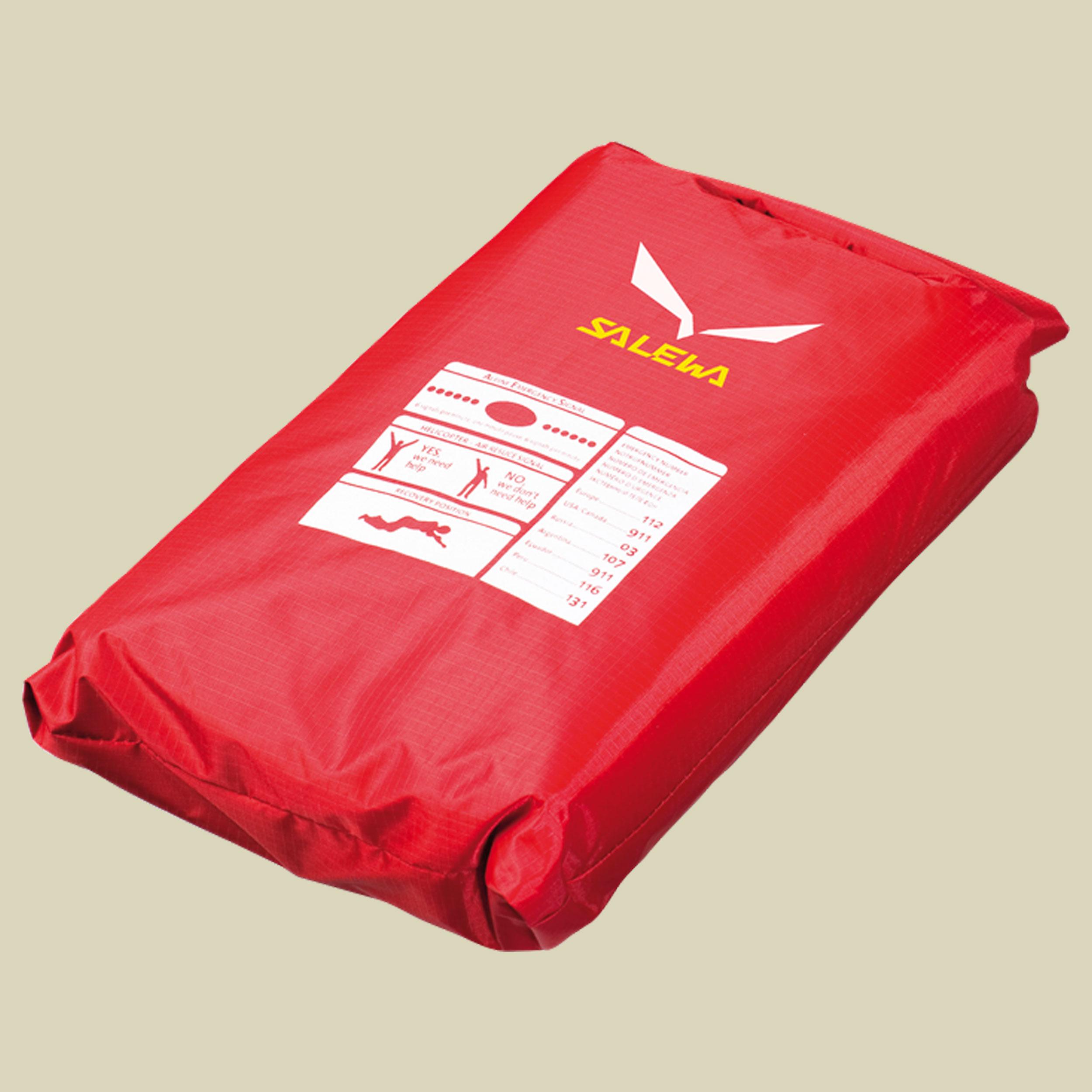 Salewa Bivibag Storm II Biwaksack für zwei Personen Größe 220 x 140 cm red-anthracite