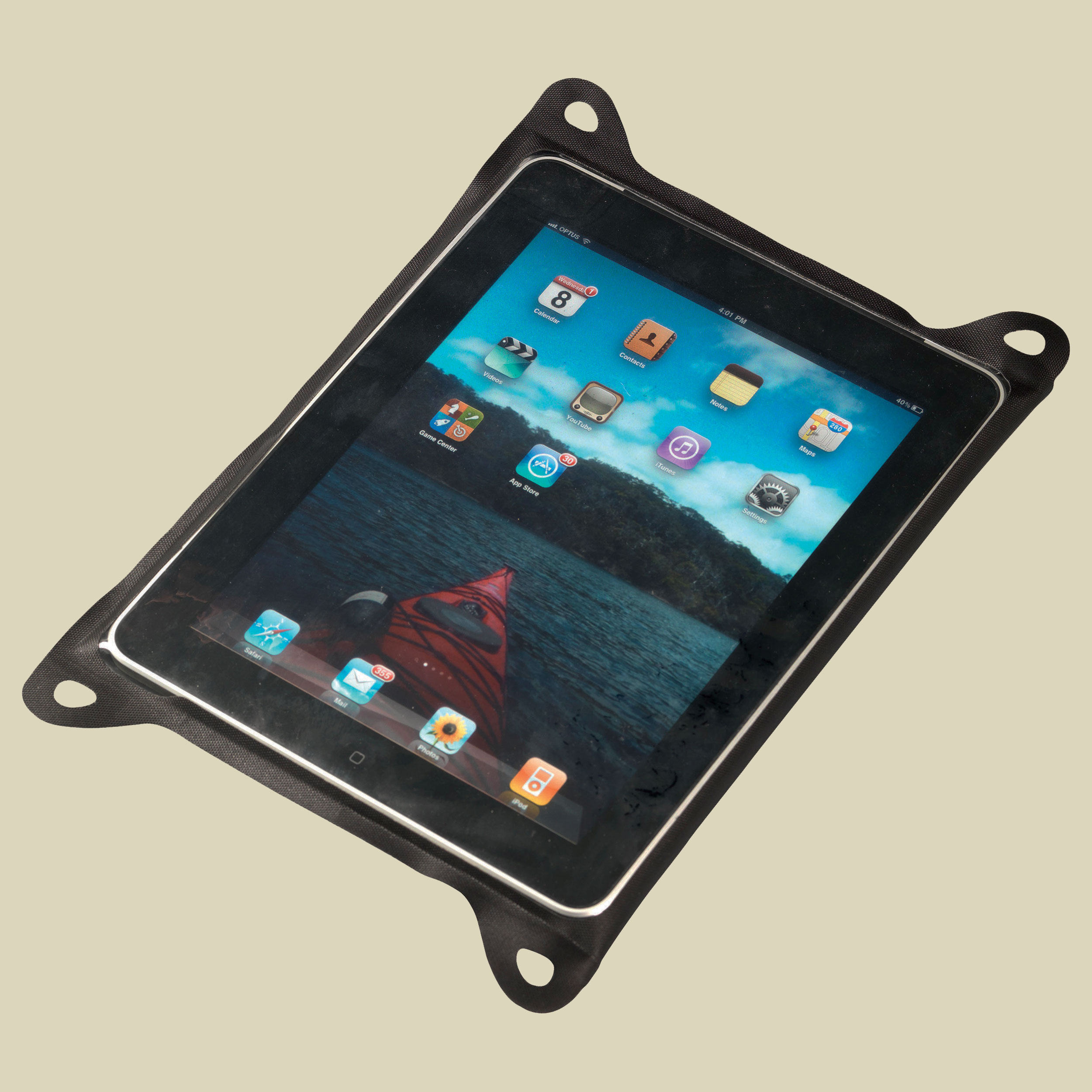 Sea to Summit TPU Guide Waterproof Case for Tablets Tablet PC Hülle Größe M black