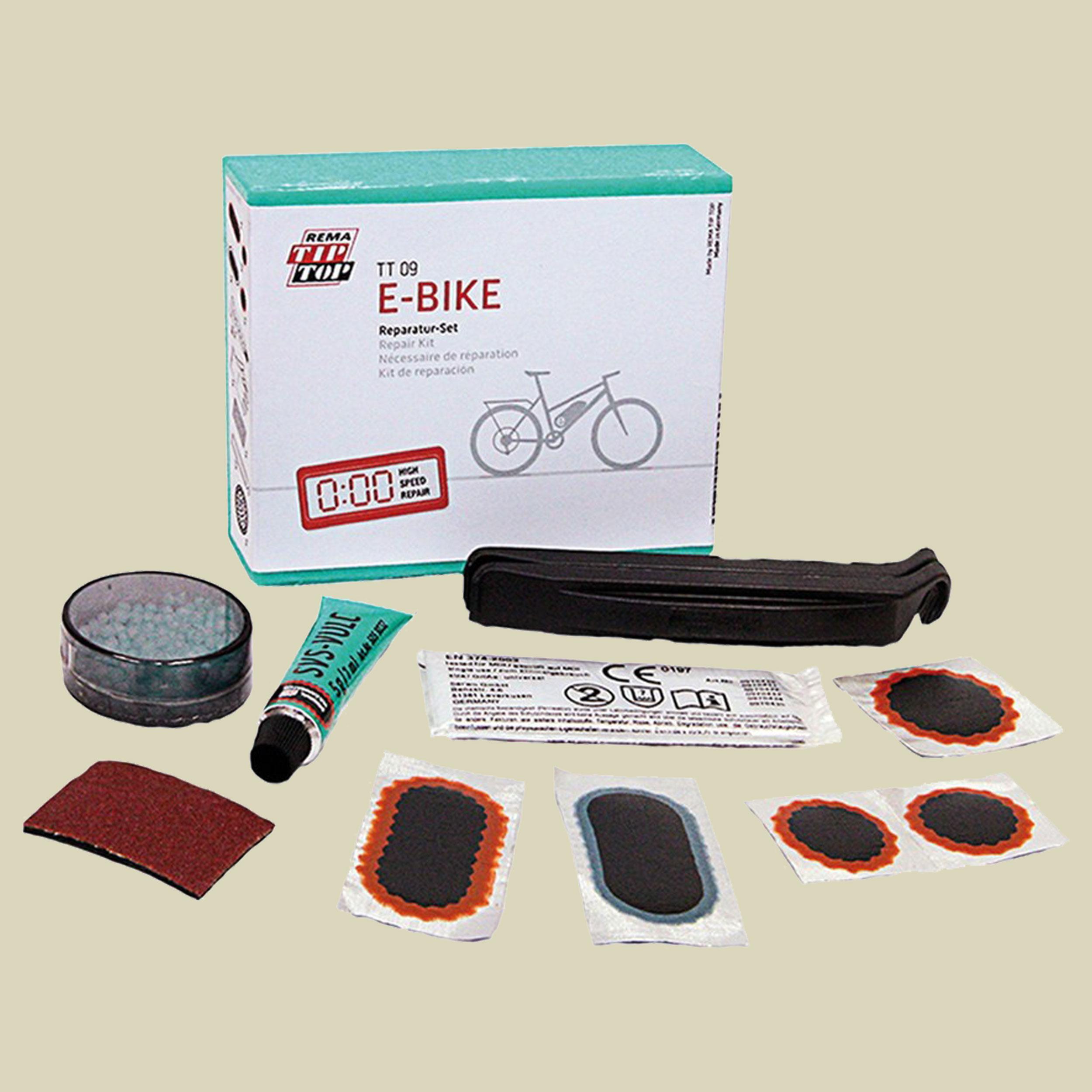 Tip Top TT 09 Fahrrad Flicken Flickzeug