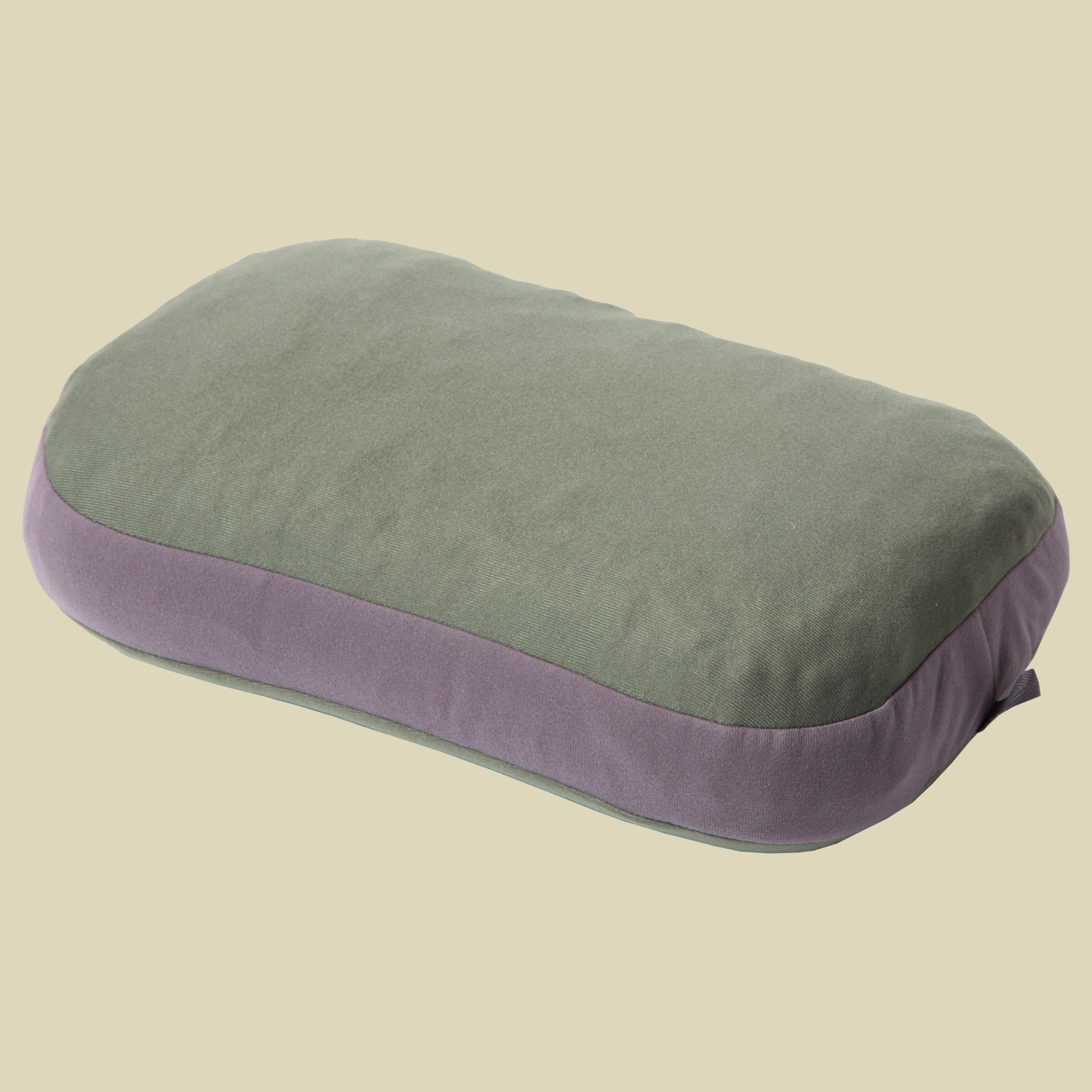 Exped REM Pillow M Kopfkissen mit Schaumstoff-Füllung Größe 38 x 25 x 13 cm green-grey