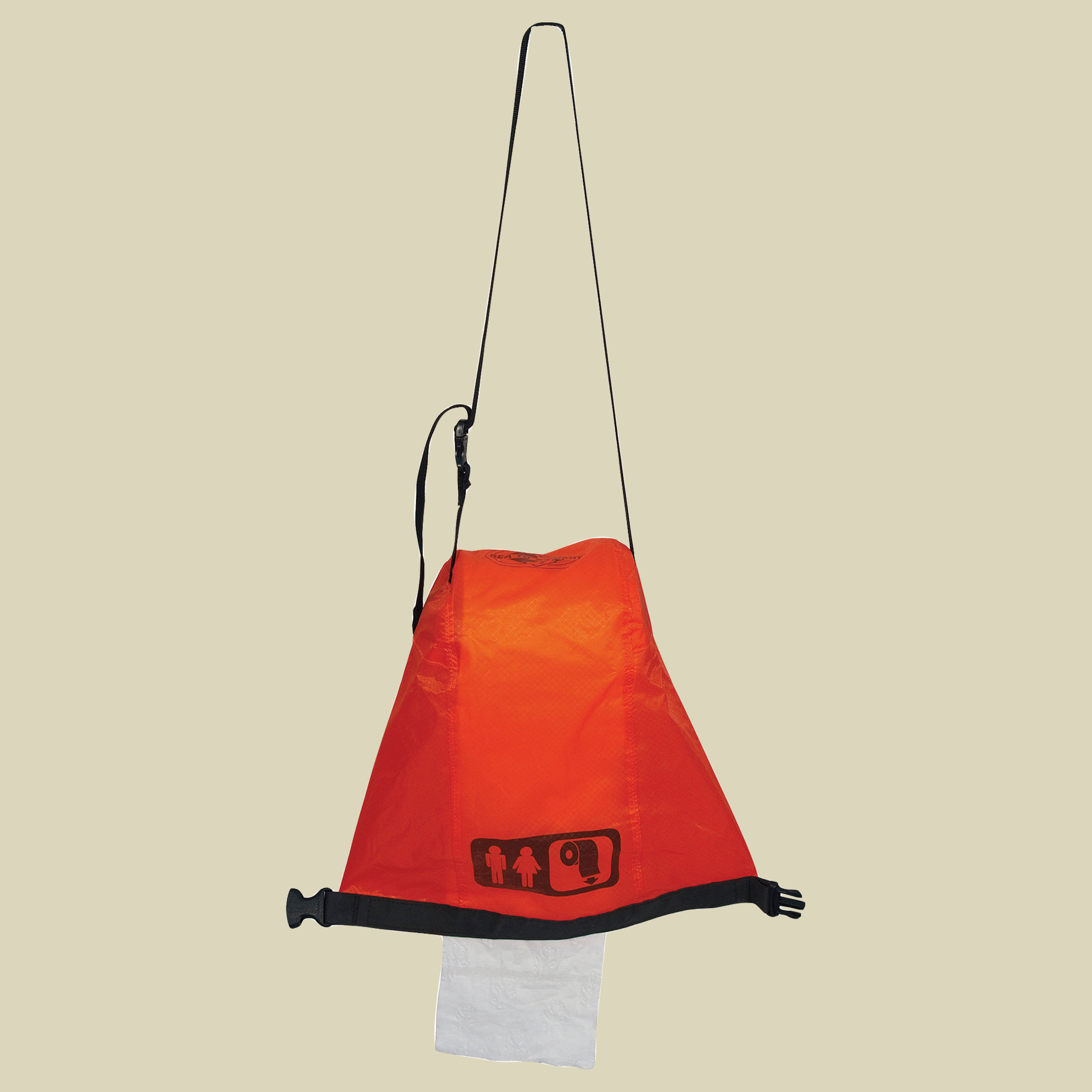 Sea to Summit Ultra-Sil Outhouse Toilettenpapierhalter  Farbe: orange