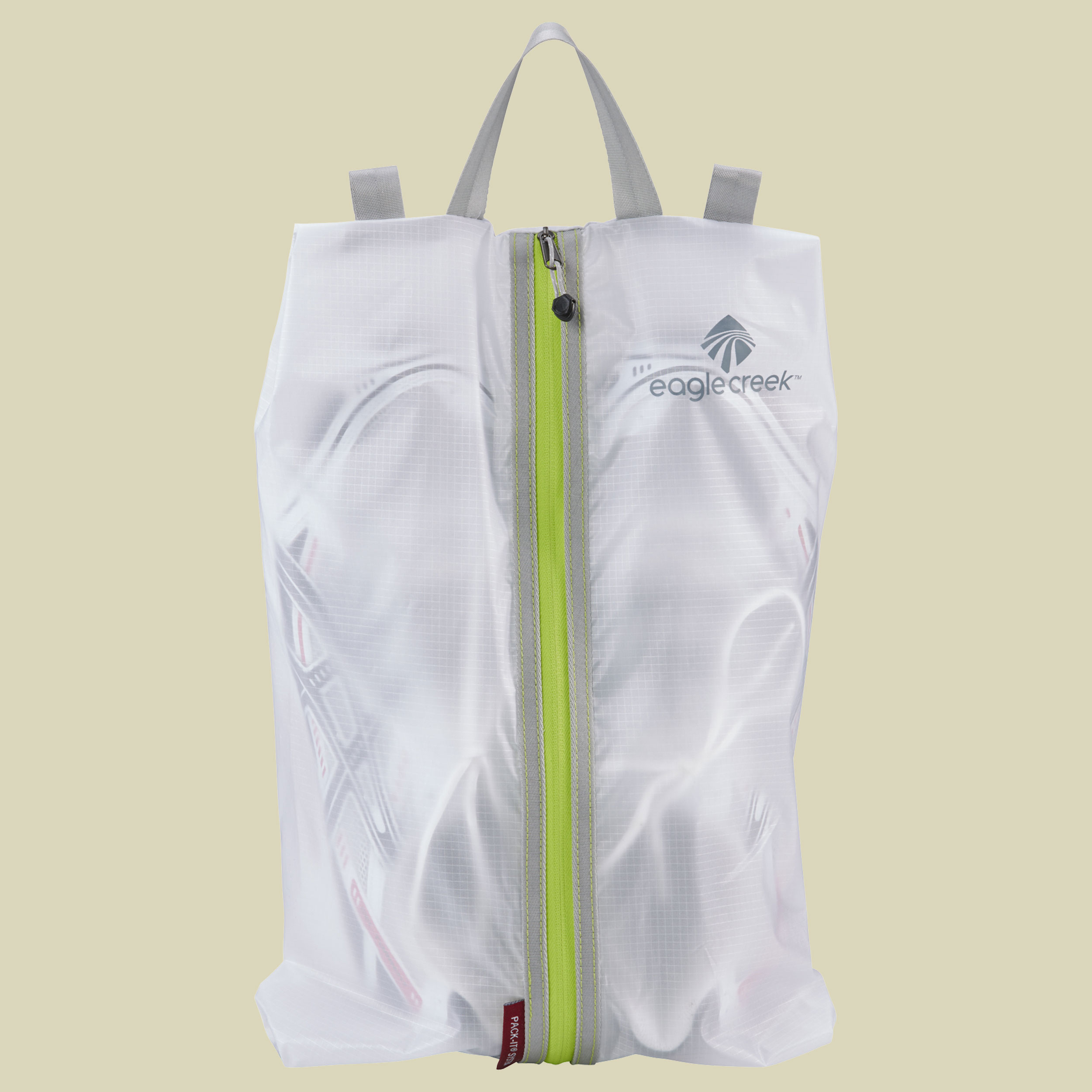 Eagle Creek Pack-It Specter Shoe Sac Packsack Schuhe Größe one size white/strobe