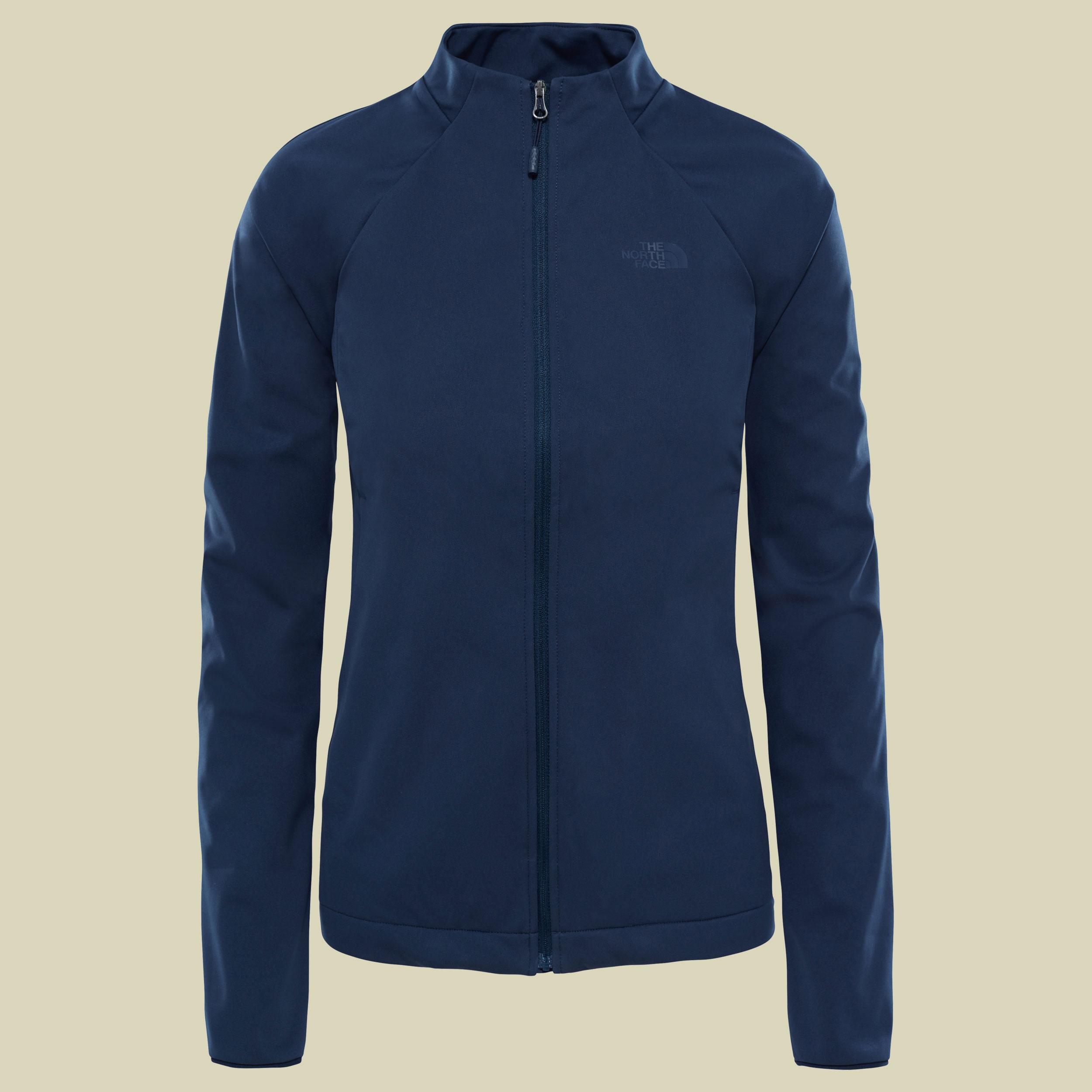 The North Face Inlux Softshell Jacket Women Damen Softshelljacke Größe XS urban navy