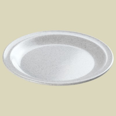 Waca Melamin-Teller flach granit