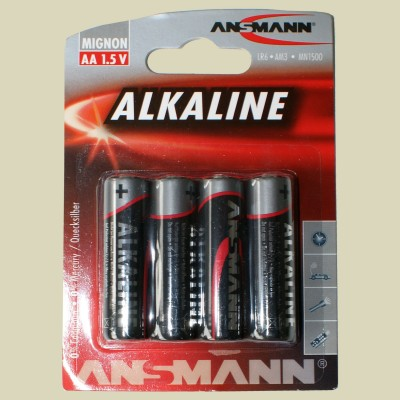 BICO Ansmann Batterie Red Mignon LR6 AA