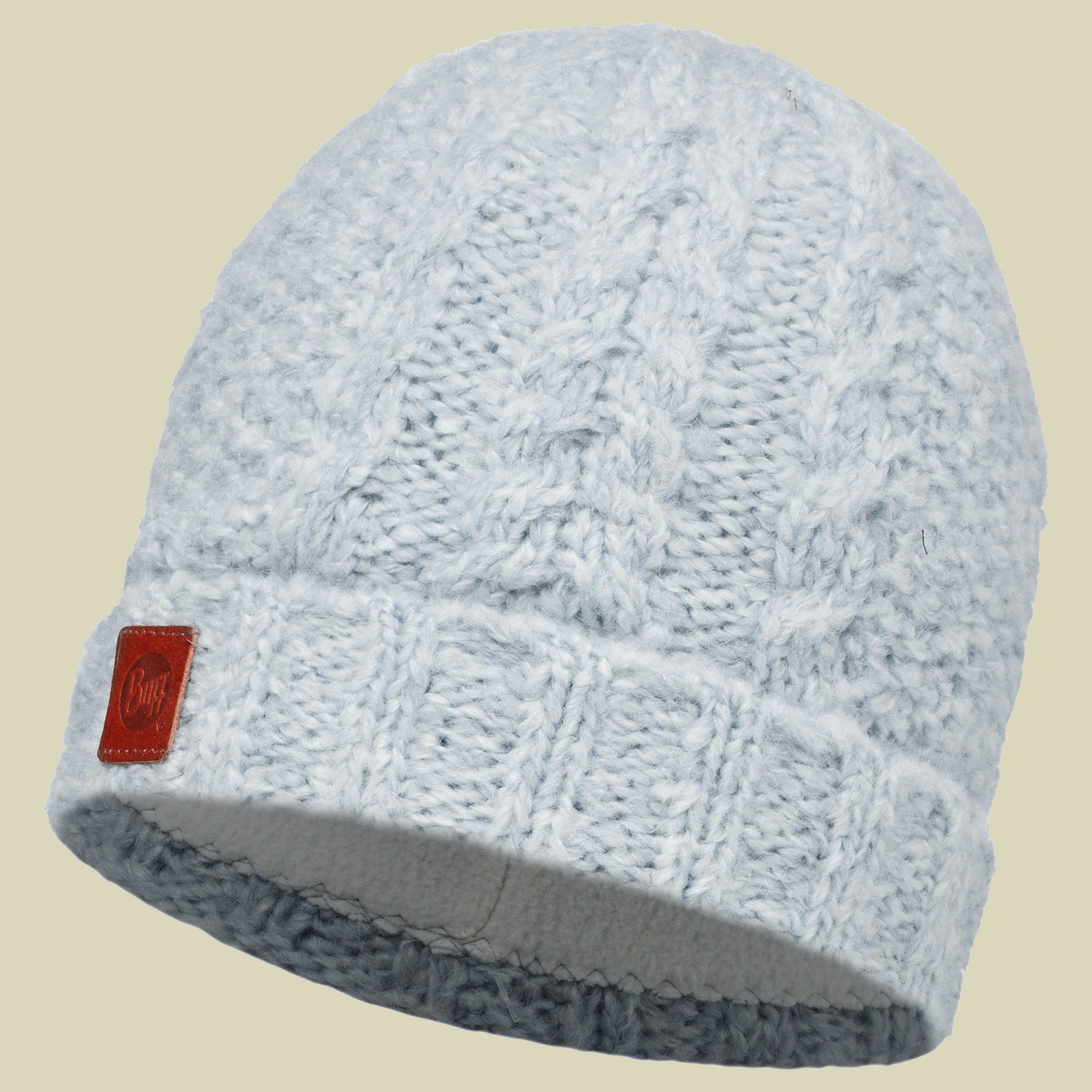 Knitted & Polar Fleece Hat Amby