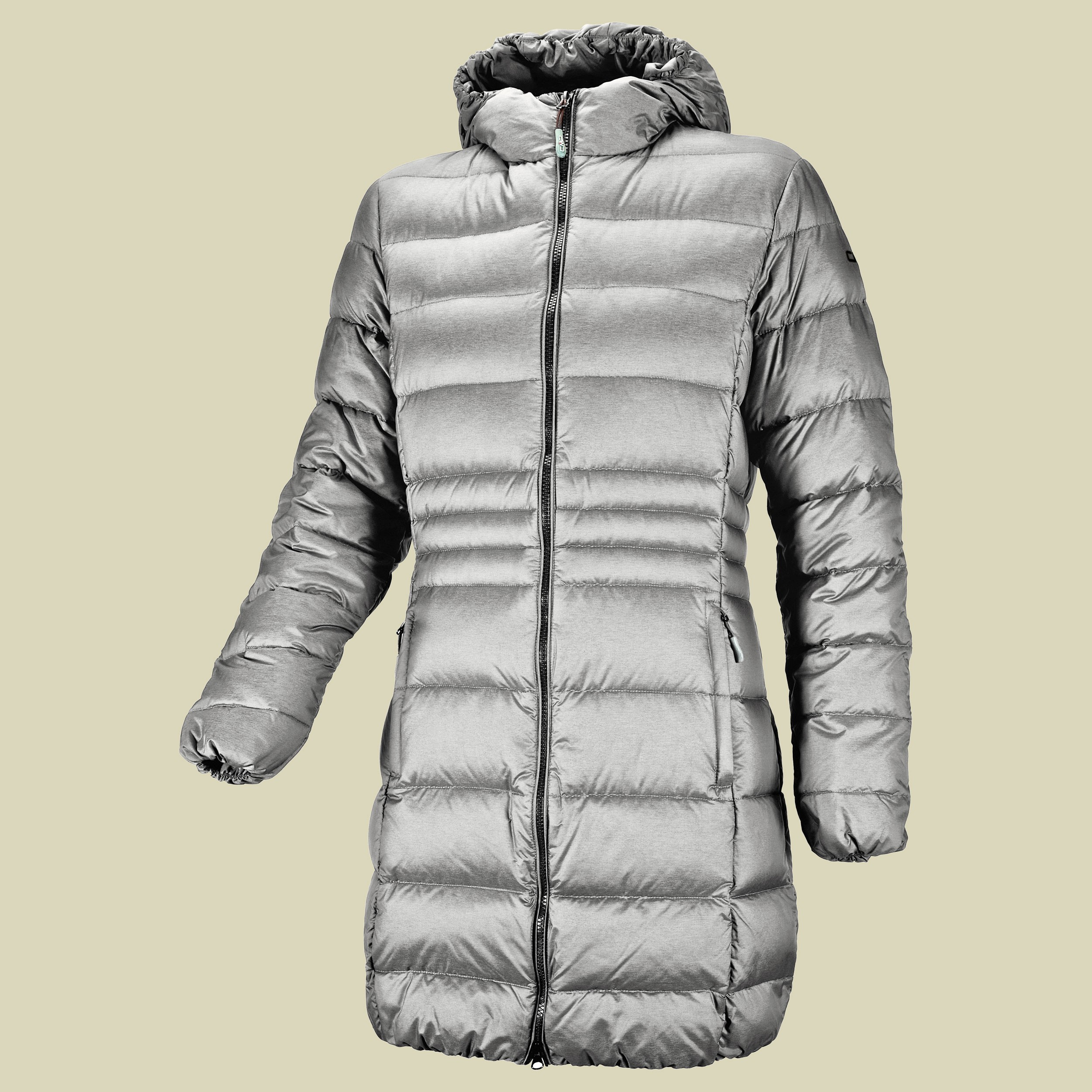 Woman Down Coat Fix Hood CMP 3Z16326