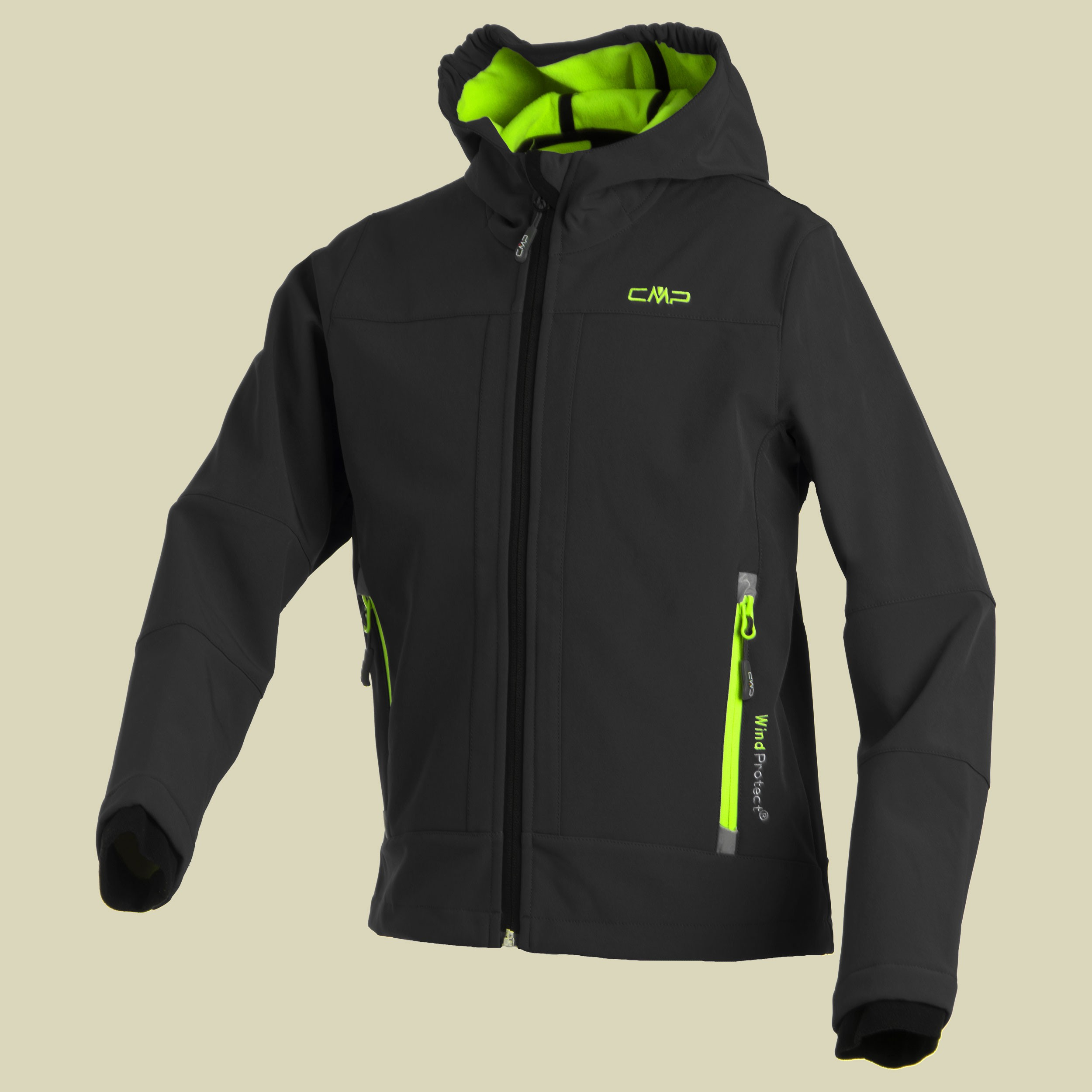 Boy Softshell Jacket Fix Hood CMP 3A00094