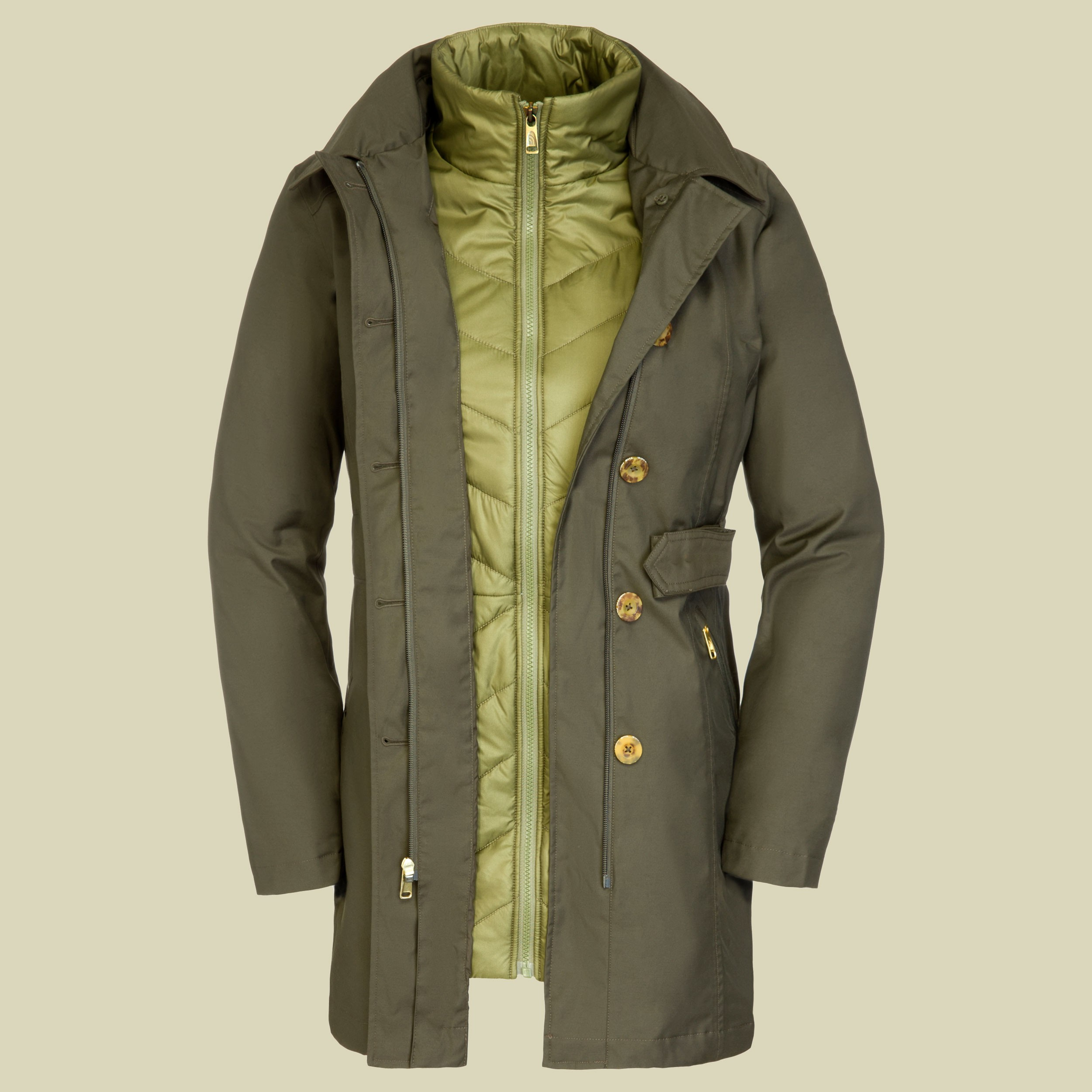 Riverdale Trench Triclimate Jacket Women