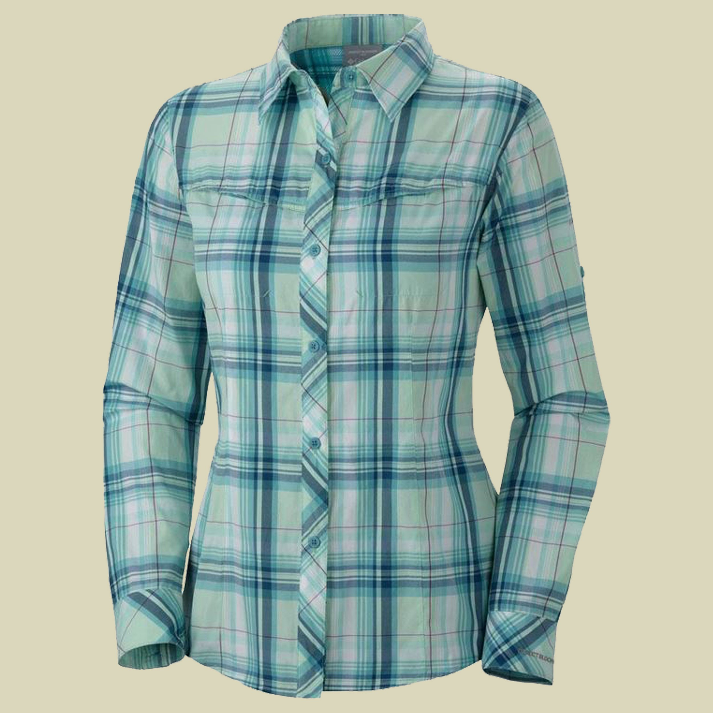 Insect Blocker Plaid L/S Shirt Women