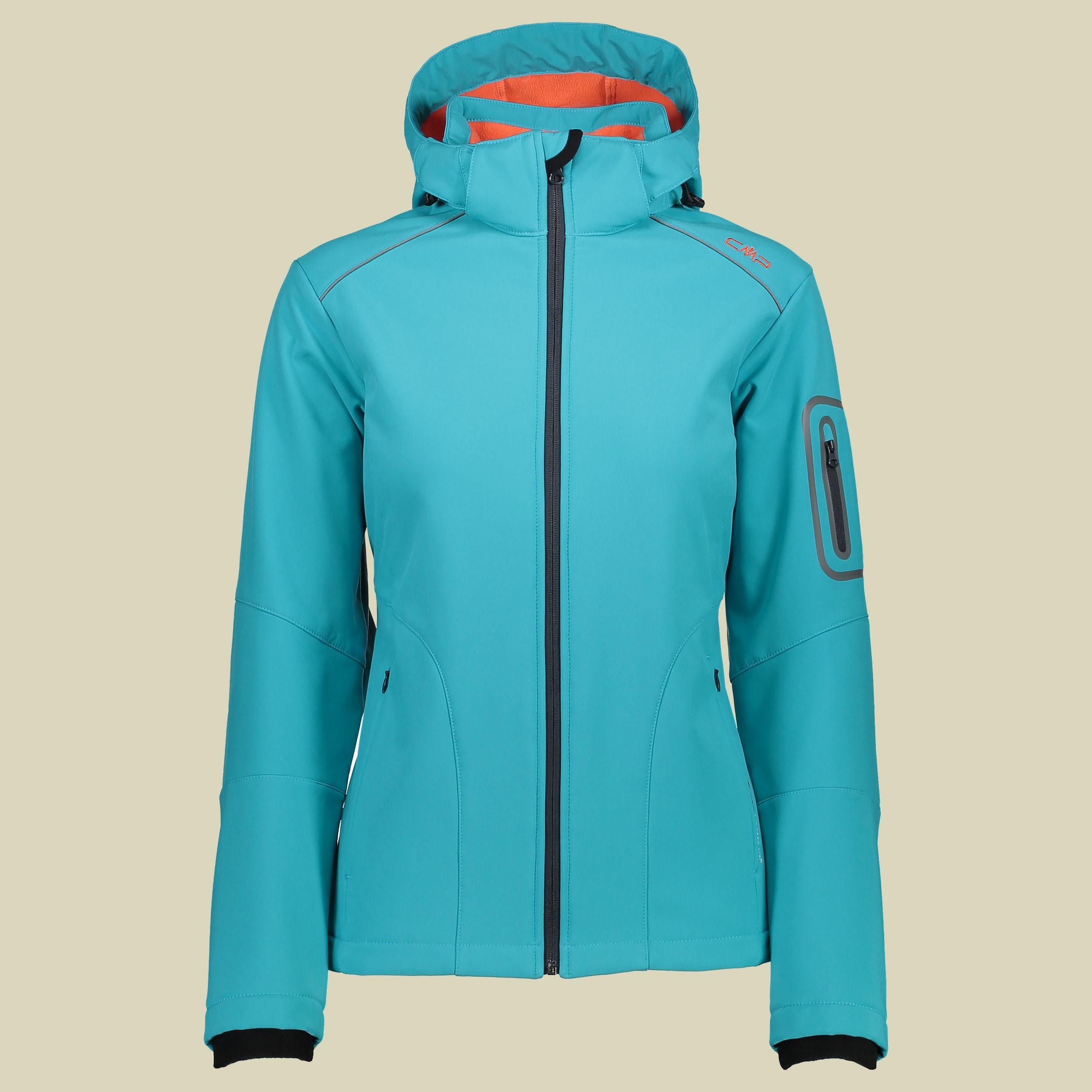 Woman Softshell Jacket Zip Hood 3A05396