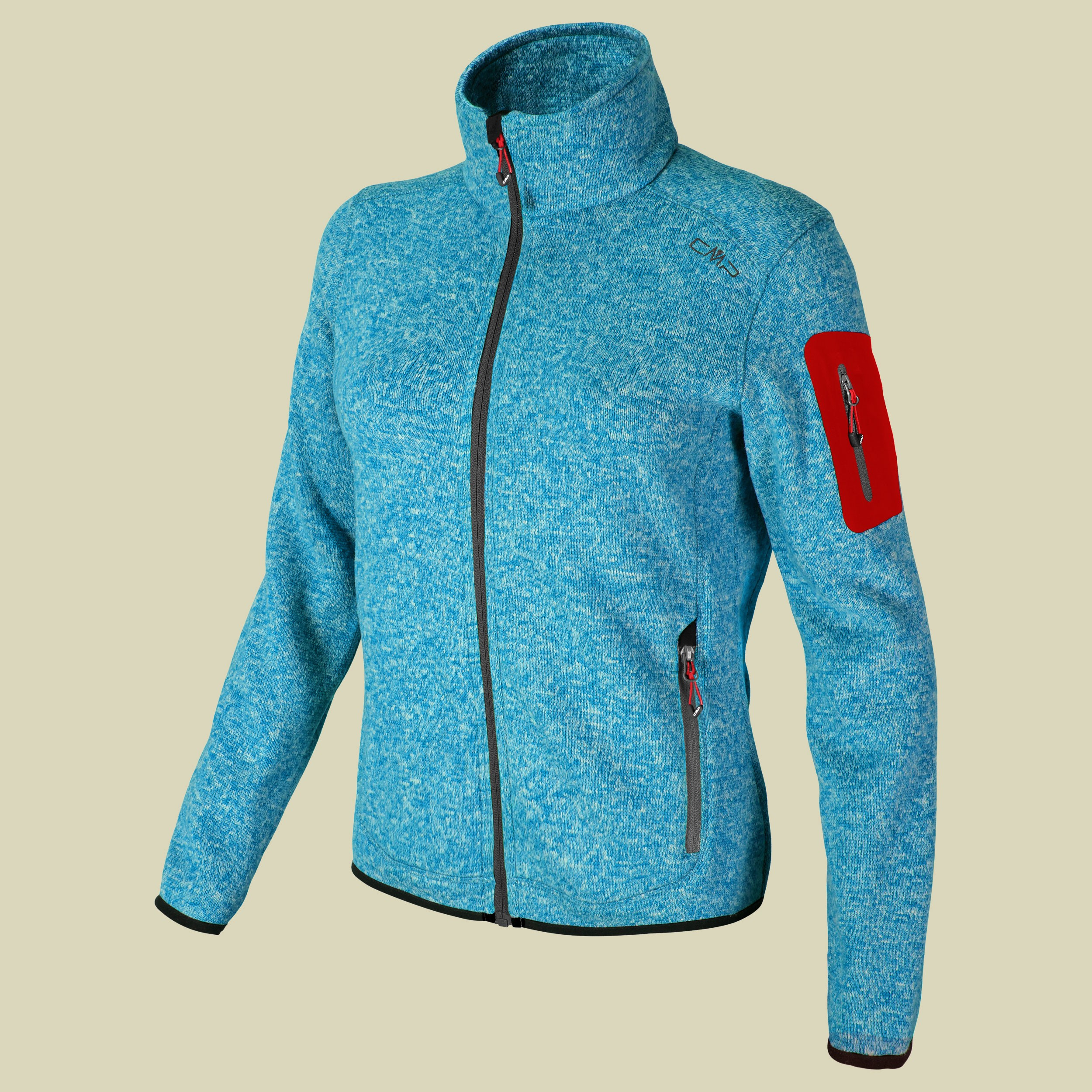 Woman Knitted Fleece Jacket CMP 3H14746