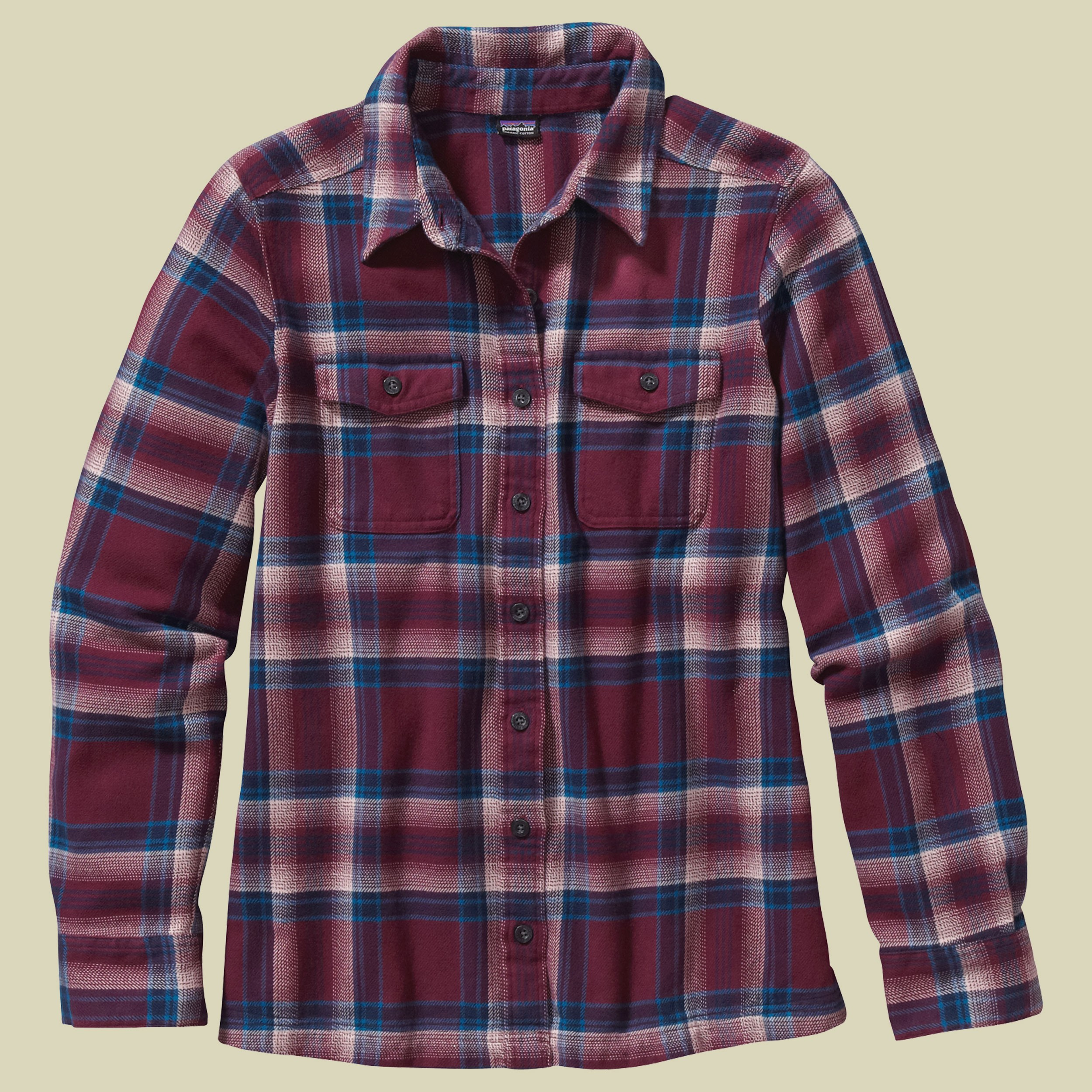 Long Sleeved Fjord Flanell Shirt Women