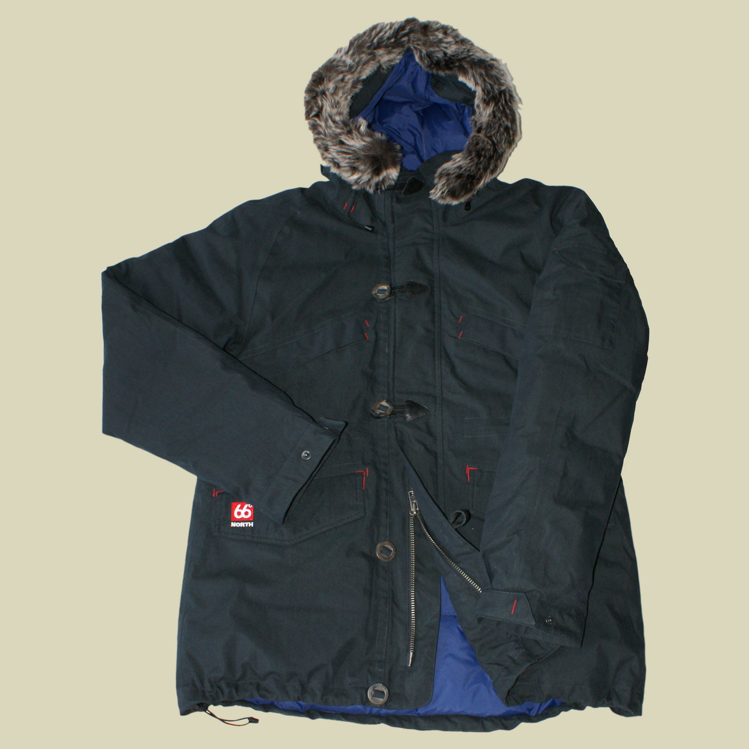 Snaefell Down Parka Fake Fur