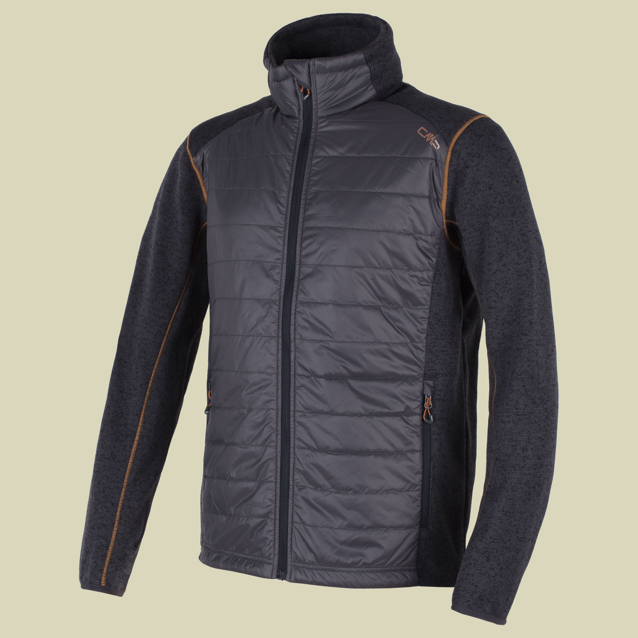 Man Hybrid Fleece Jacket 3H30467