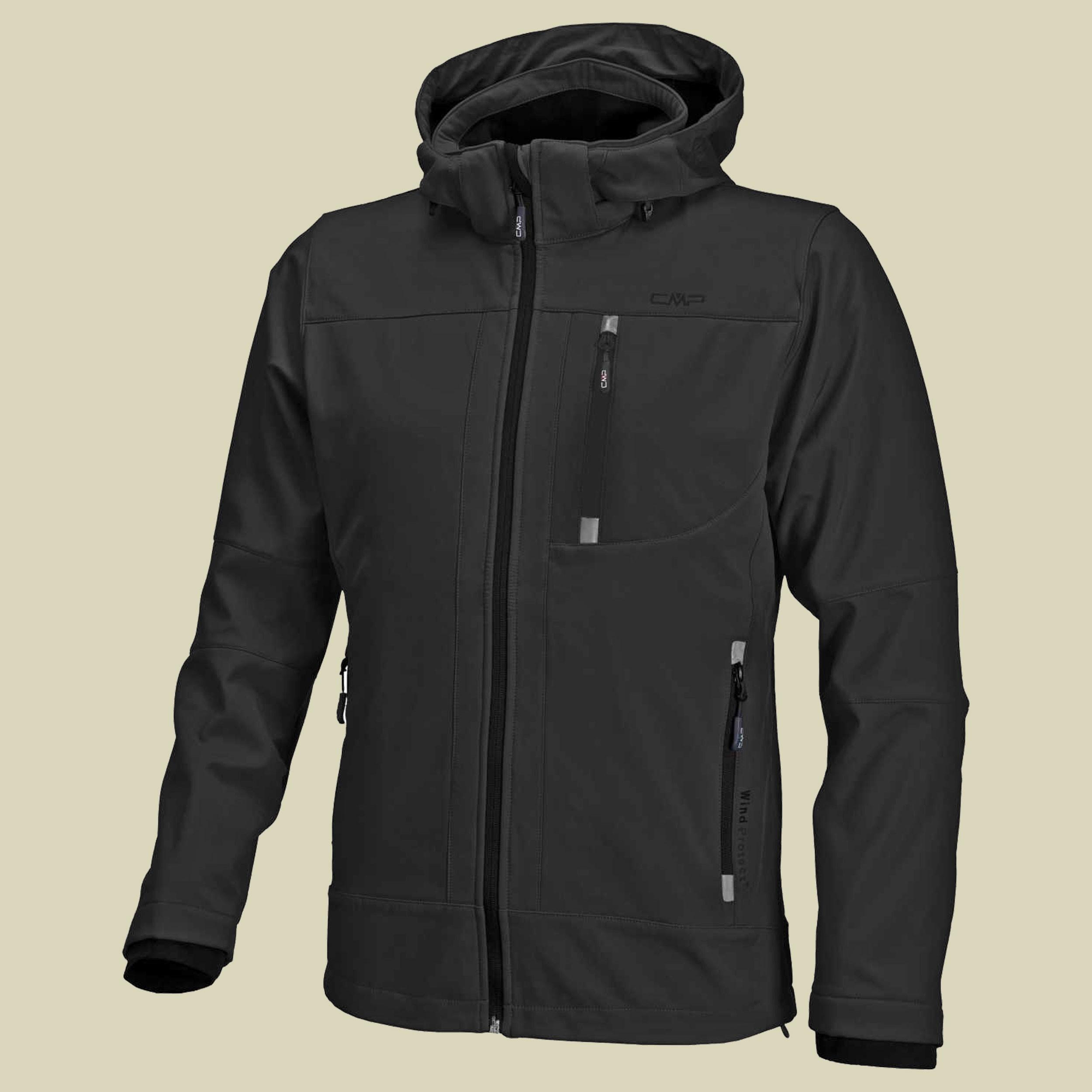 Man Softshell Jacket Zip Hood CMP 3A01787