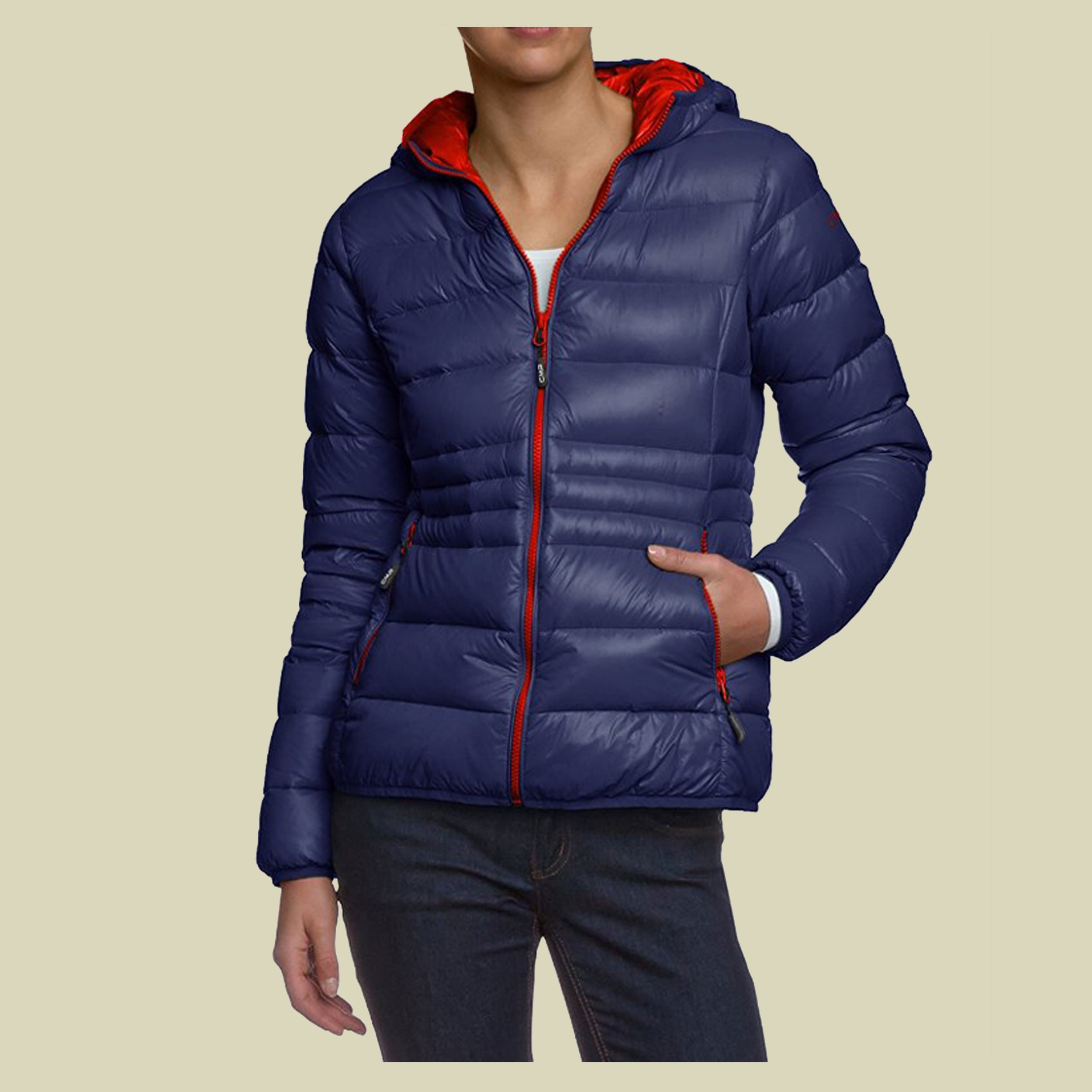 Woman Down Jacket Fix Hood CMP 3Z16026