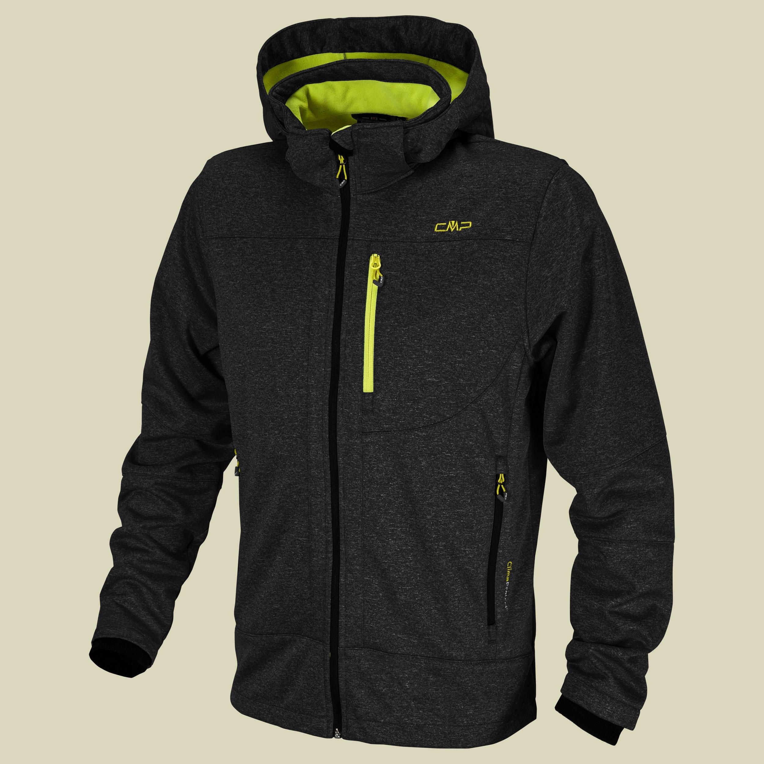 Man Softshell Jacket Zip Hood CMP 3A01787M