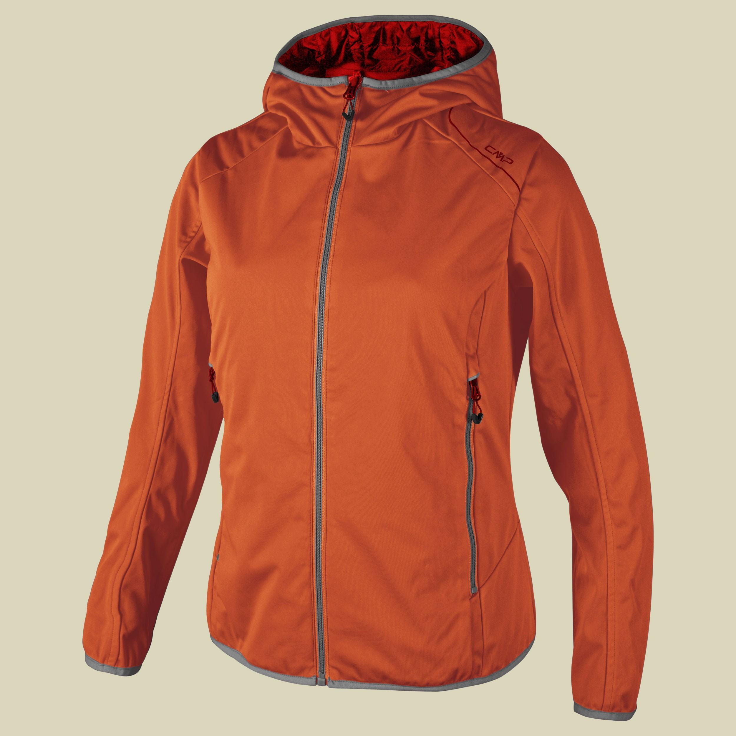 Woman Fix Hood Softshell Reverse Jacket 3A54666
