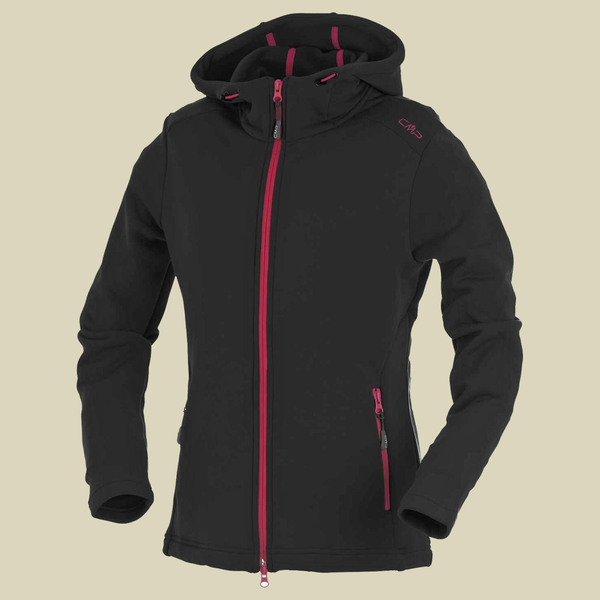 Woman Stretch Performance Jacket Fix Hood CMP 3E13016