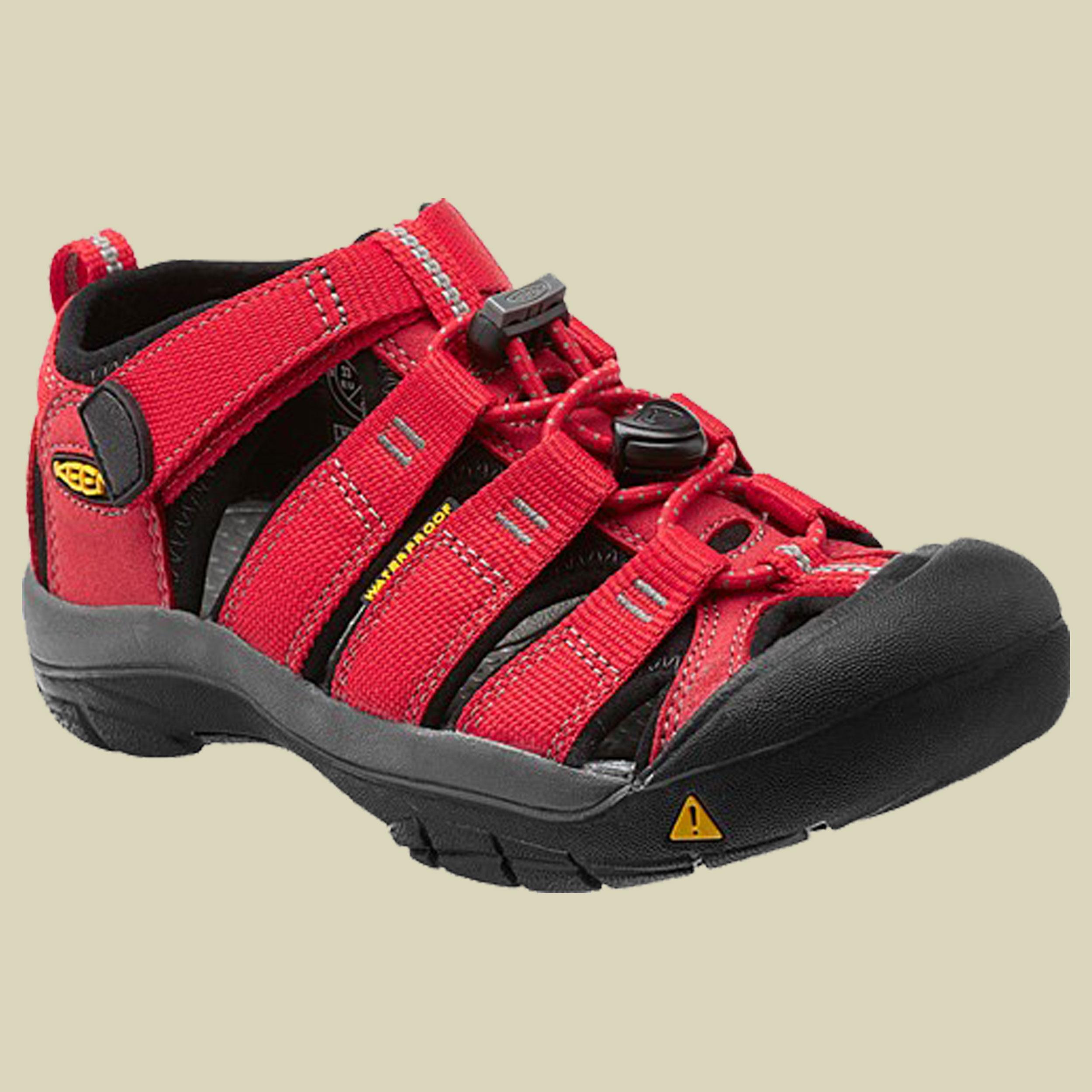 Keen Newport H2 Kids Trekking Sandale Kinder Größe 25-26 ribbon red-gargoyle