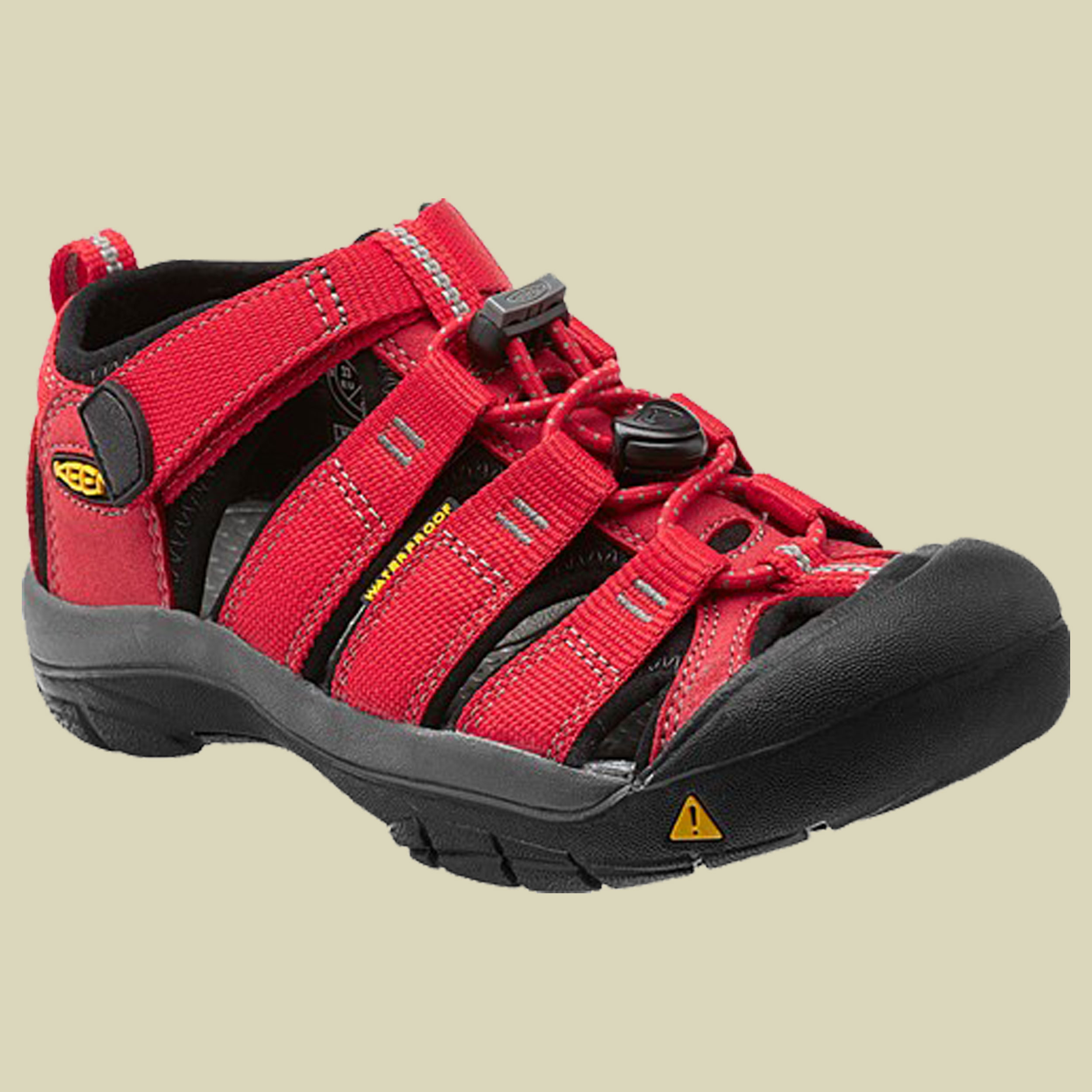 Keen Newport H2 Kids Trekking Sandale Kinder Größe 27-28 ribbon red-gargoyle