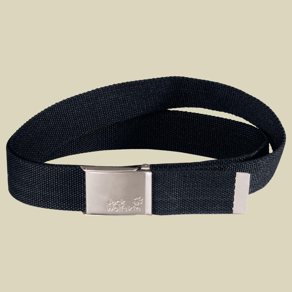 Jack Wolfskin Webbing Belt Wide Gürtel black