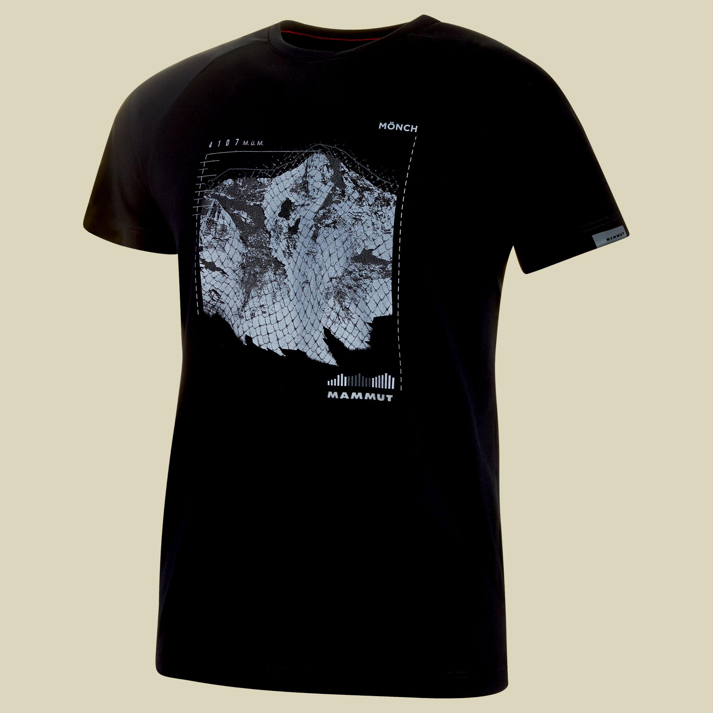 Mammut Mountain T-Shirt Men Herren T-Shirt Größe M  black PRT3