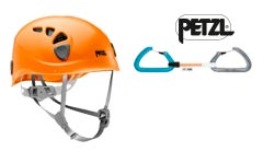 Petzl-Kletterausrüstung