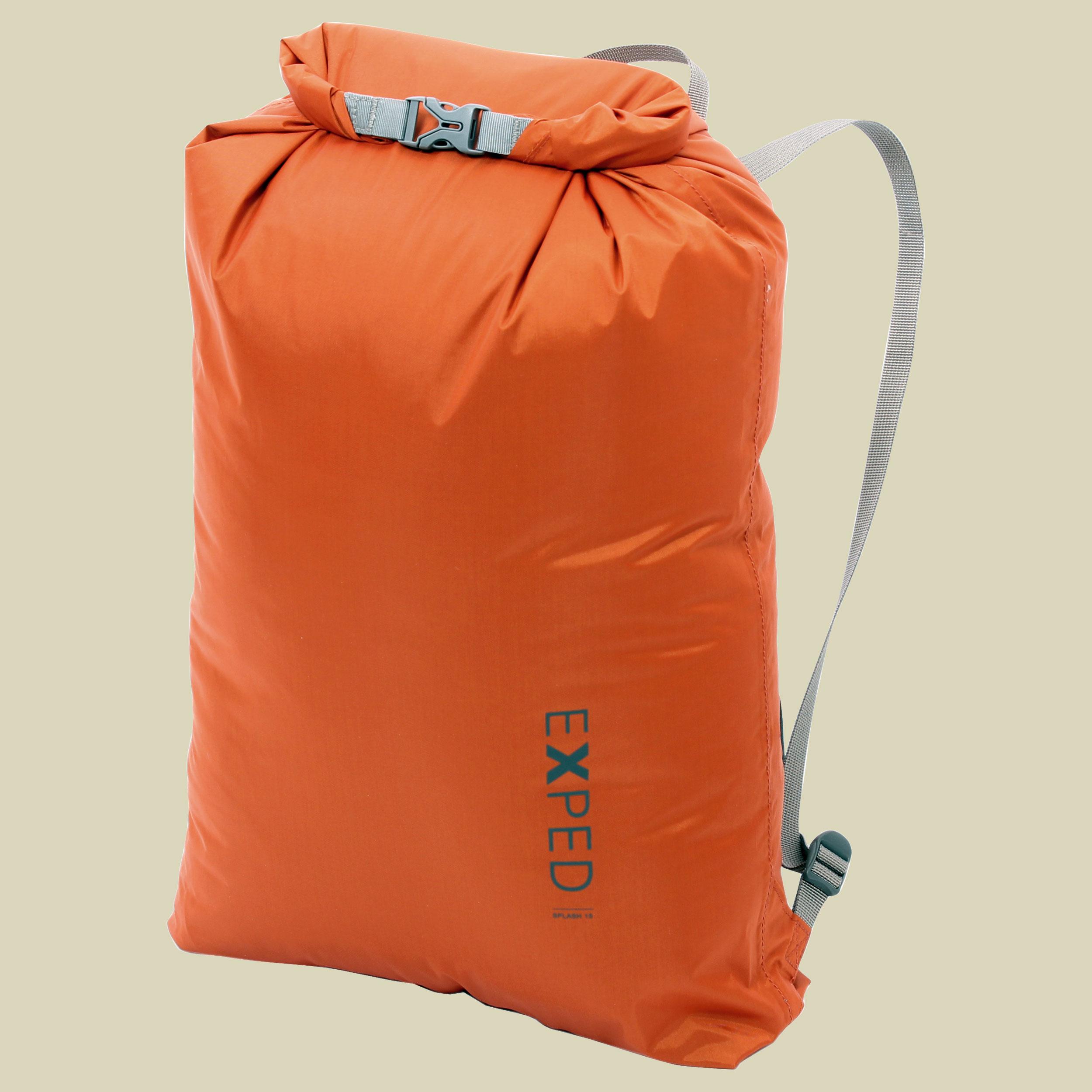 Image of Exped Splash 15 Packsack/Drypack Volumen 15 L terracotta